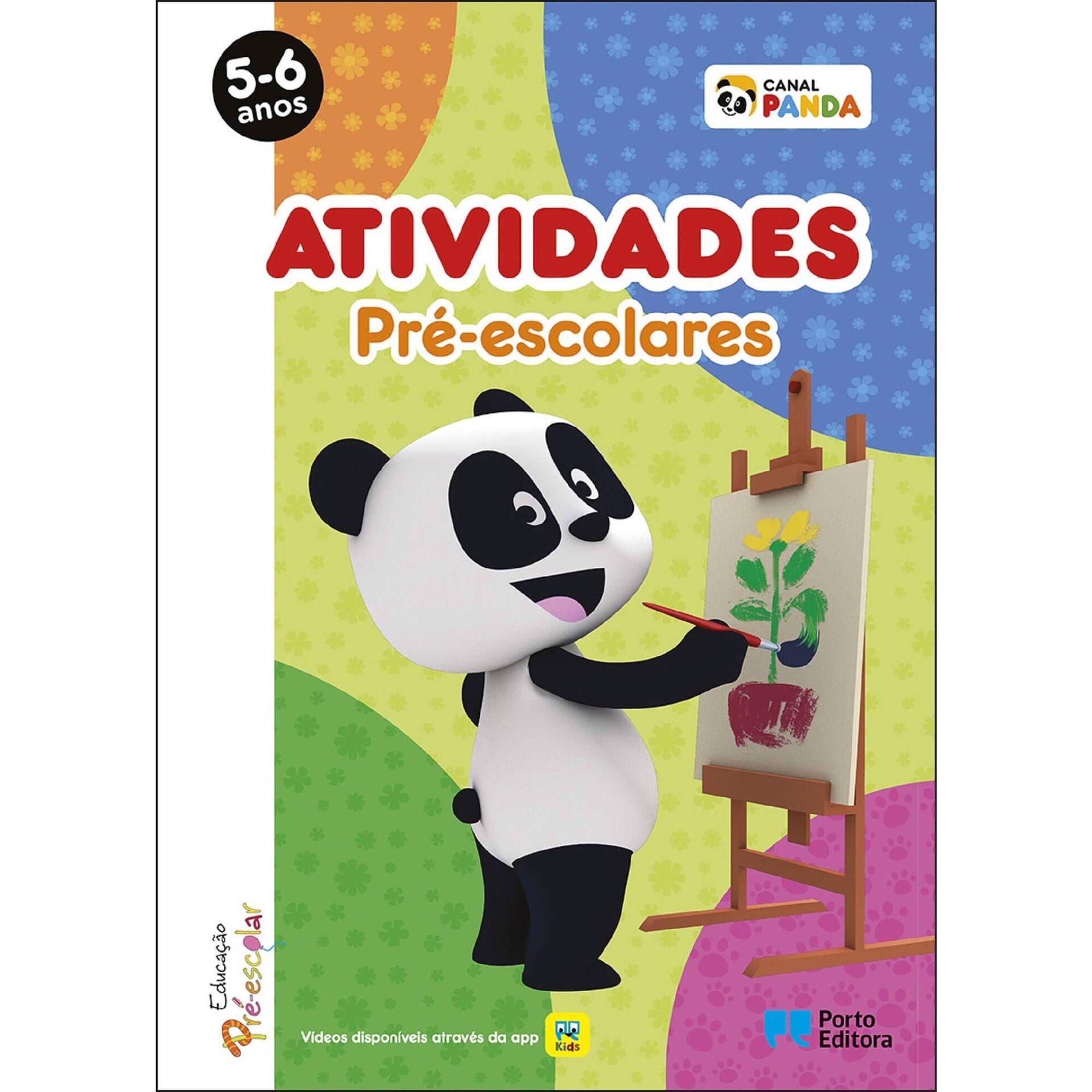 Atividades Pré-escolares Panda - 5-6 Anos