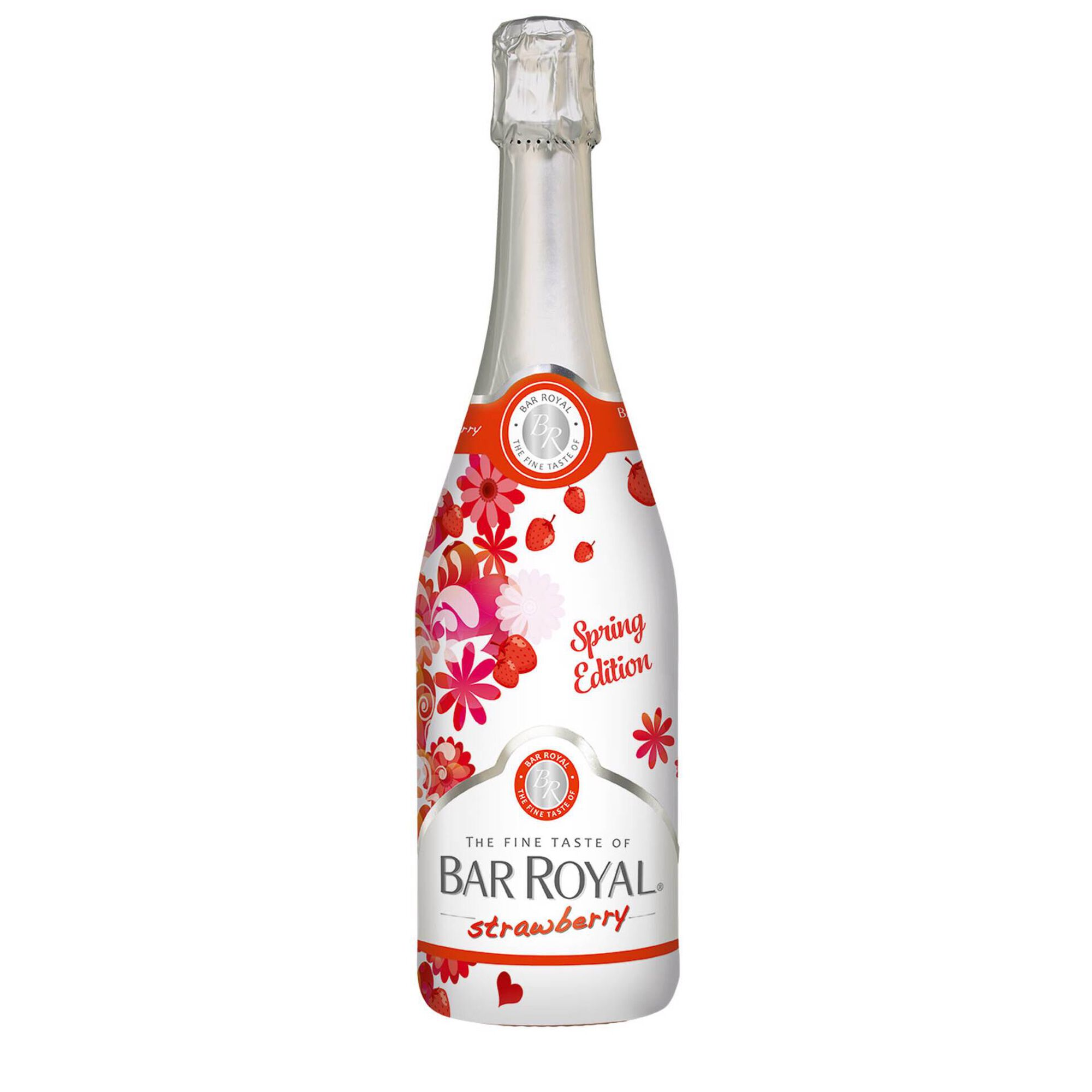 Cocktail Aromatizado Bar Royal Morango