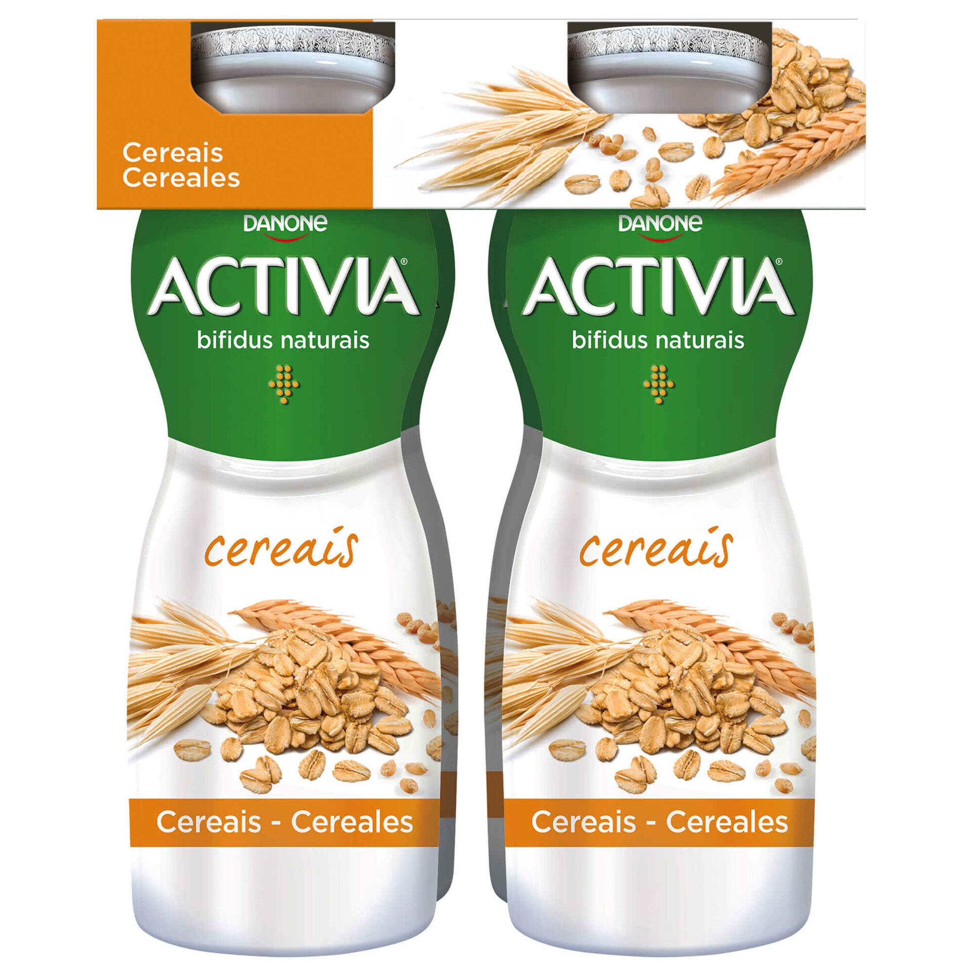 Iogurte Líquido Bifidus Probióticos Cereais Activia