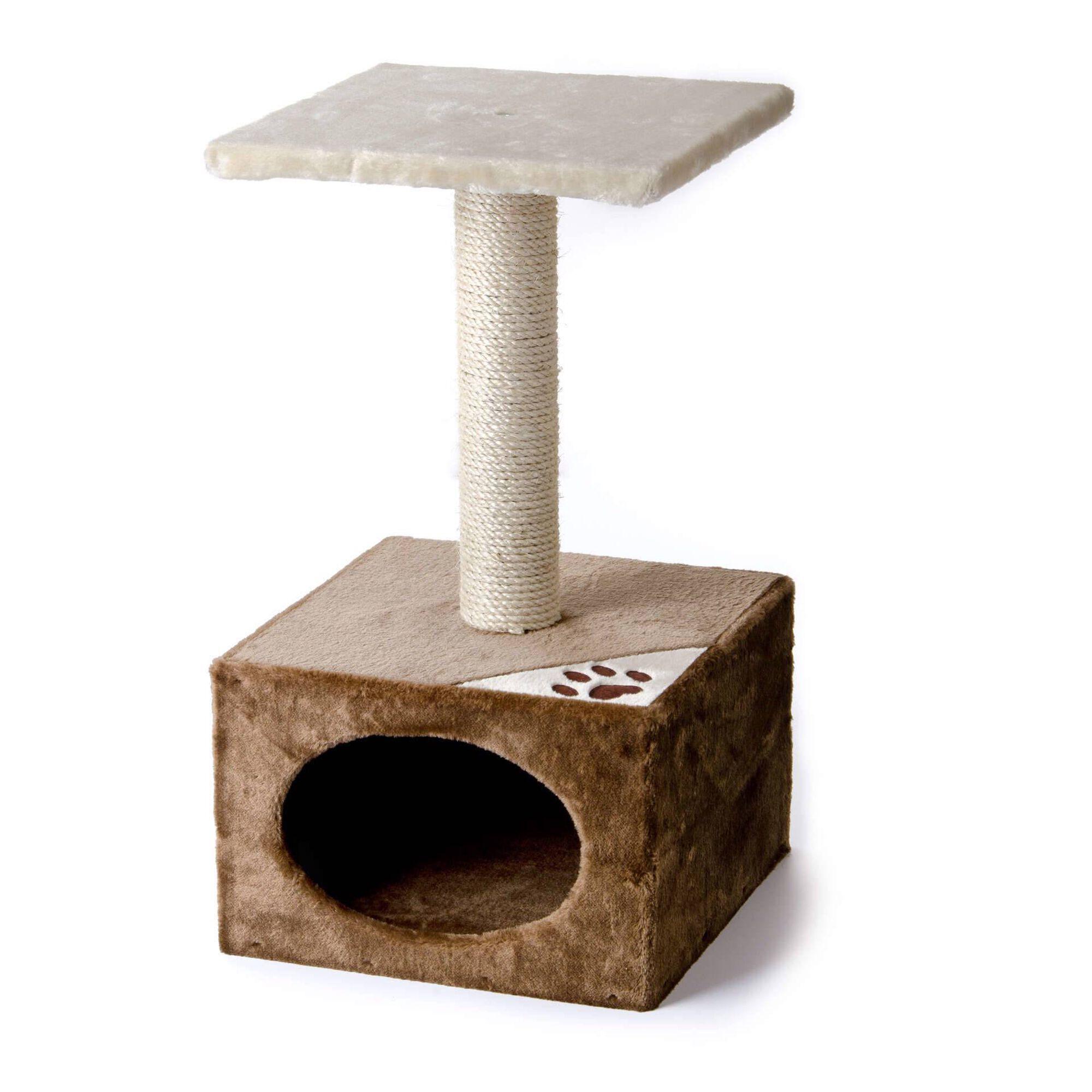 Arranhador para Gato Diabolo Bege