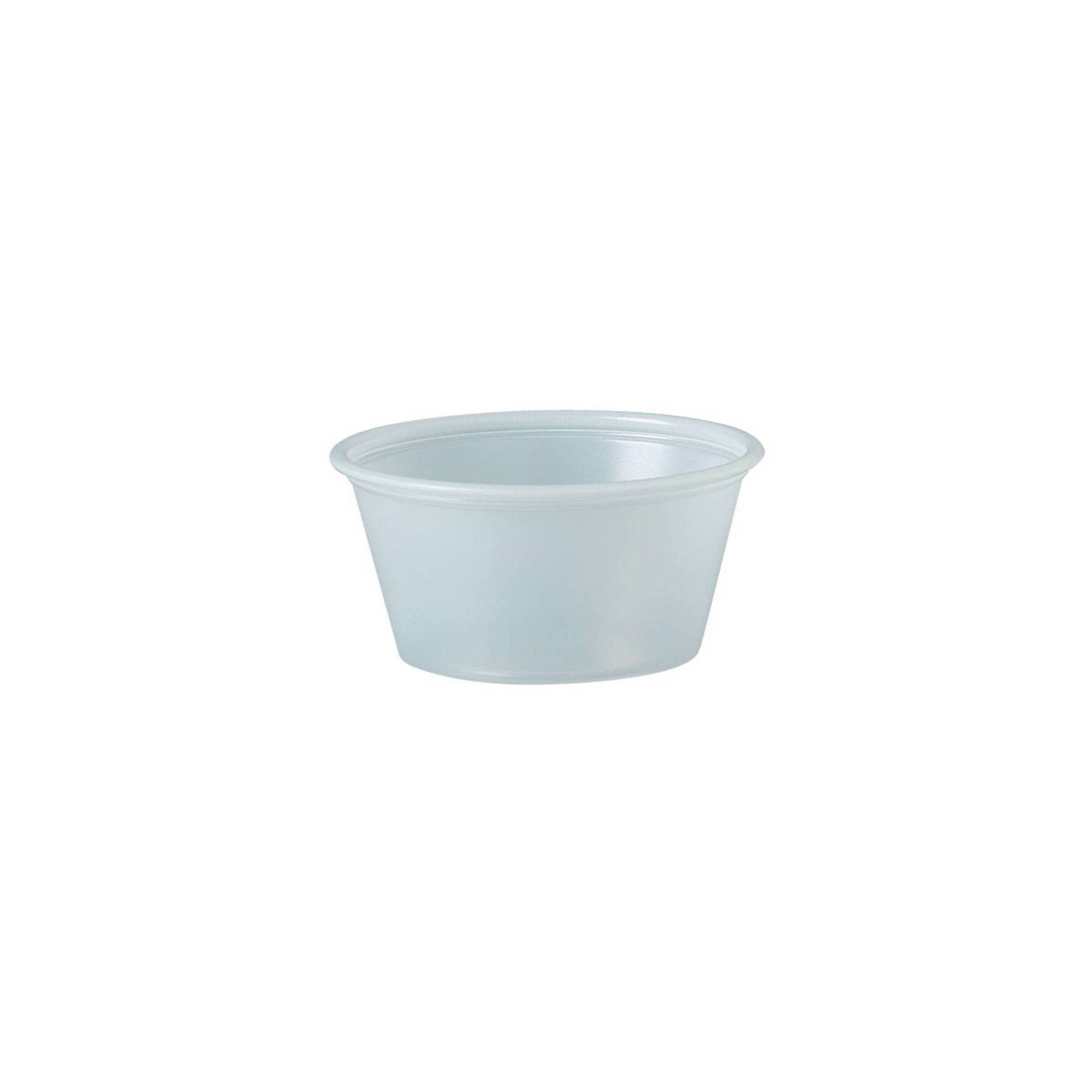 Copo Plástico Molho Branco