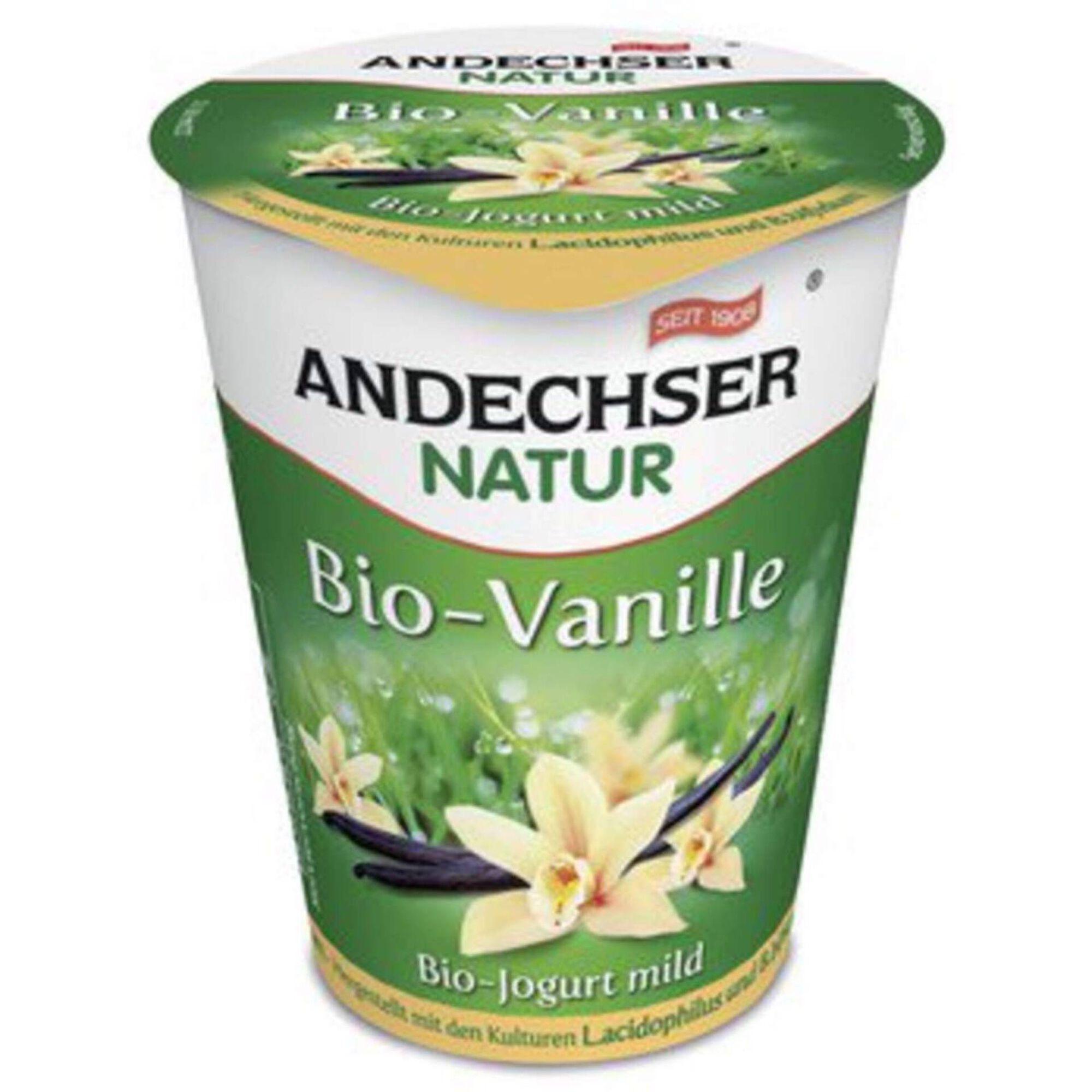 Iogurte Fruta Baunilha Biológico
