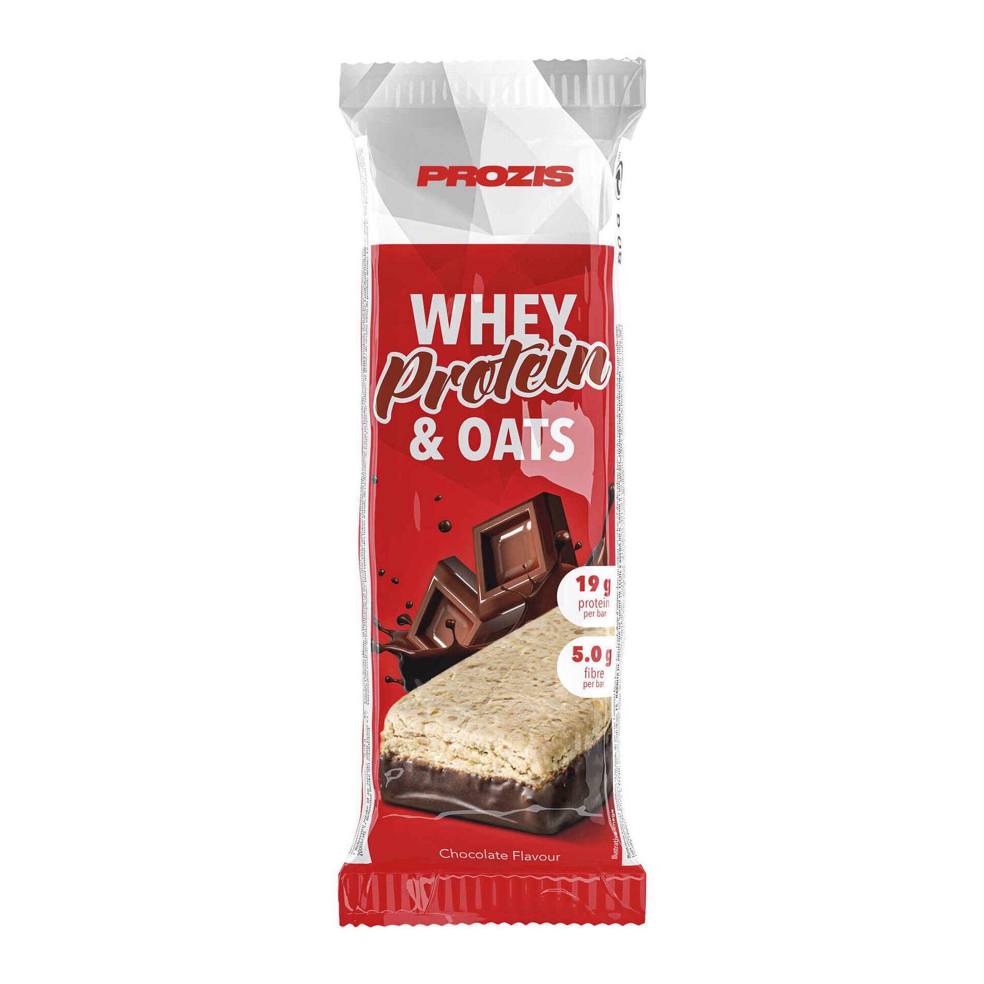 Barra Proteína Whey&Aveia Chocolate