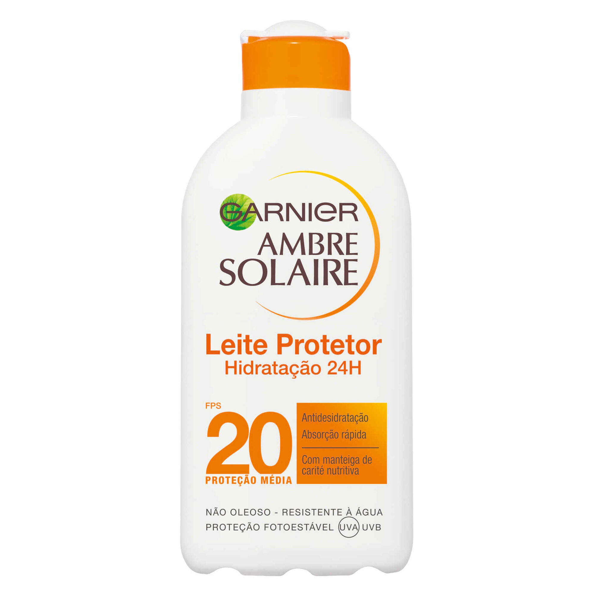 Protetor Solar Leite Ambre Solaire Hidratação 24H FPS20