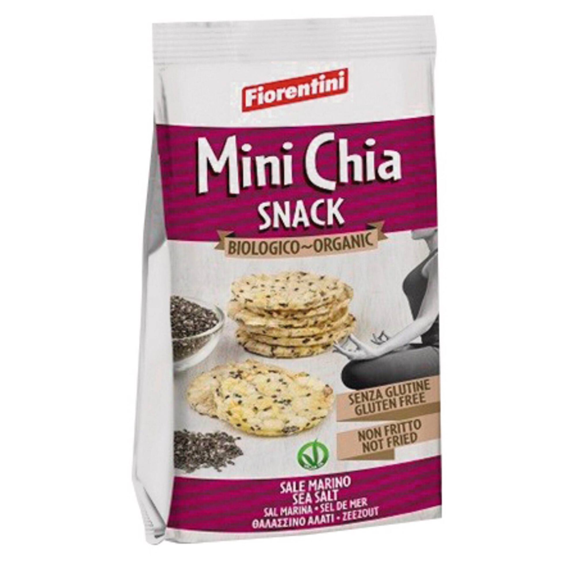 Snack Mini Chia sem Glúten Biológico