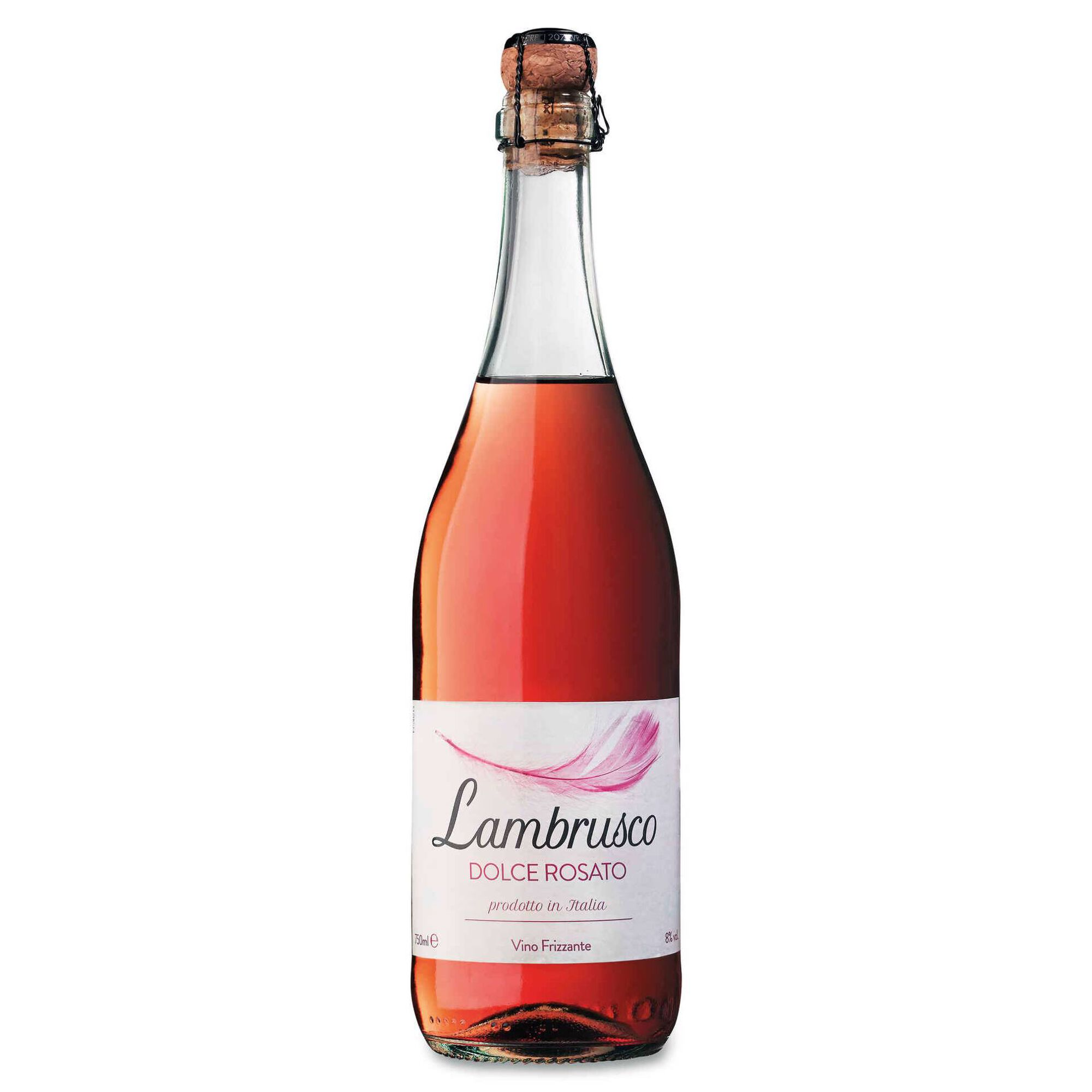 Lambrusco Continente Vinho Rosé