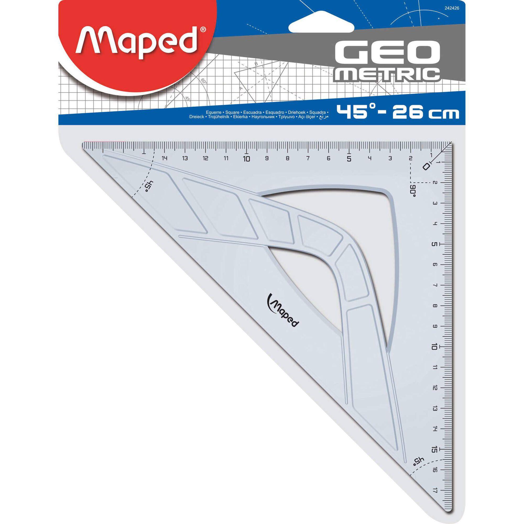 Esquadro Graphic 45º 26cm