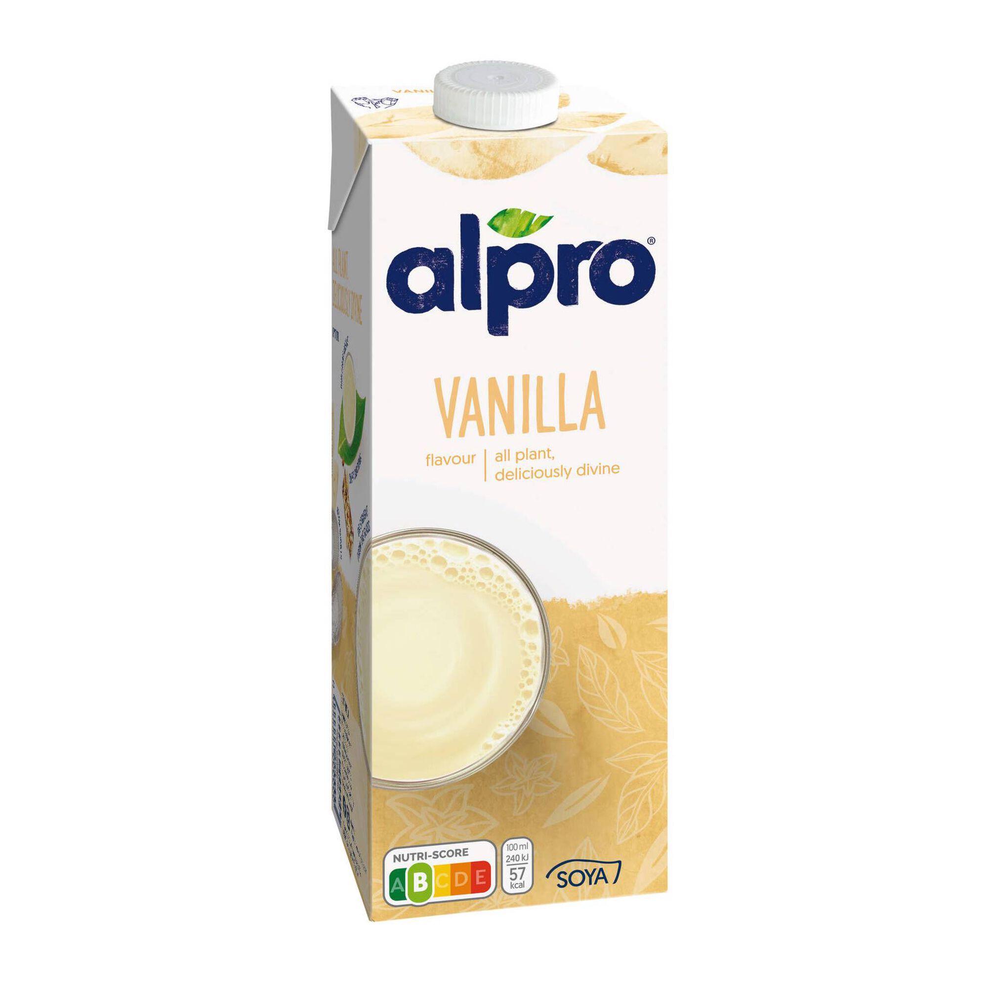 Bebida Vegetal de Soja Baunilha