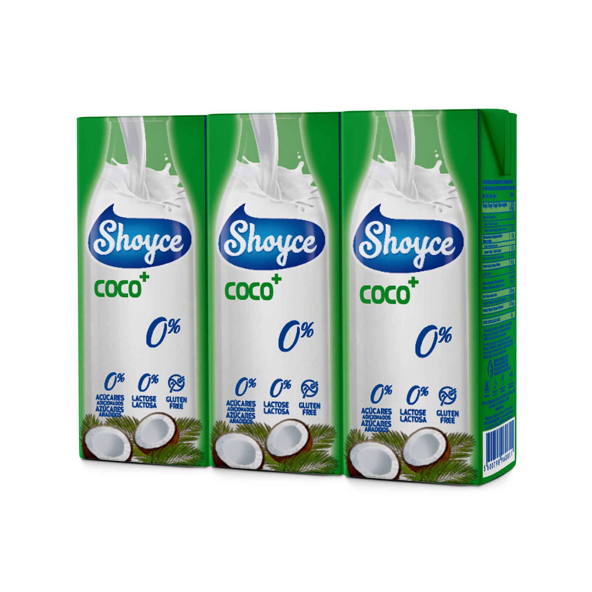 Bebida Vegetal de Coco 0%