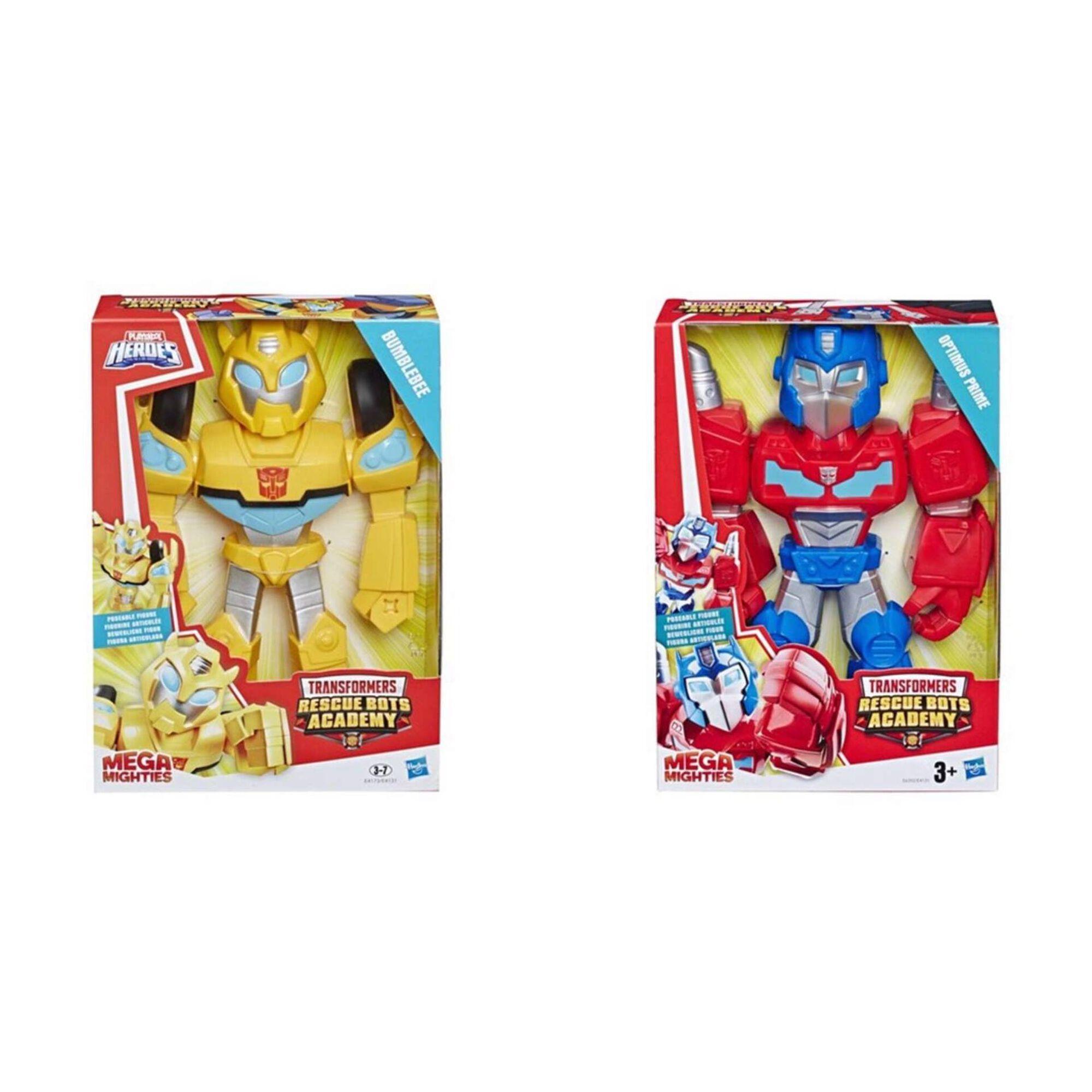 Figura Transformers - Mega Mighties (vários modelos)
