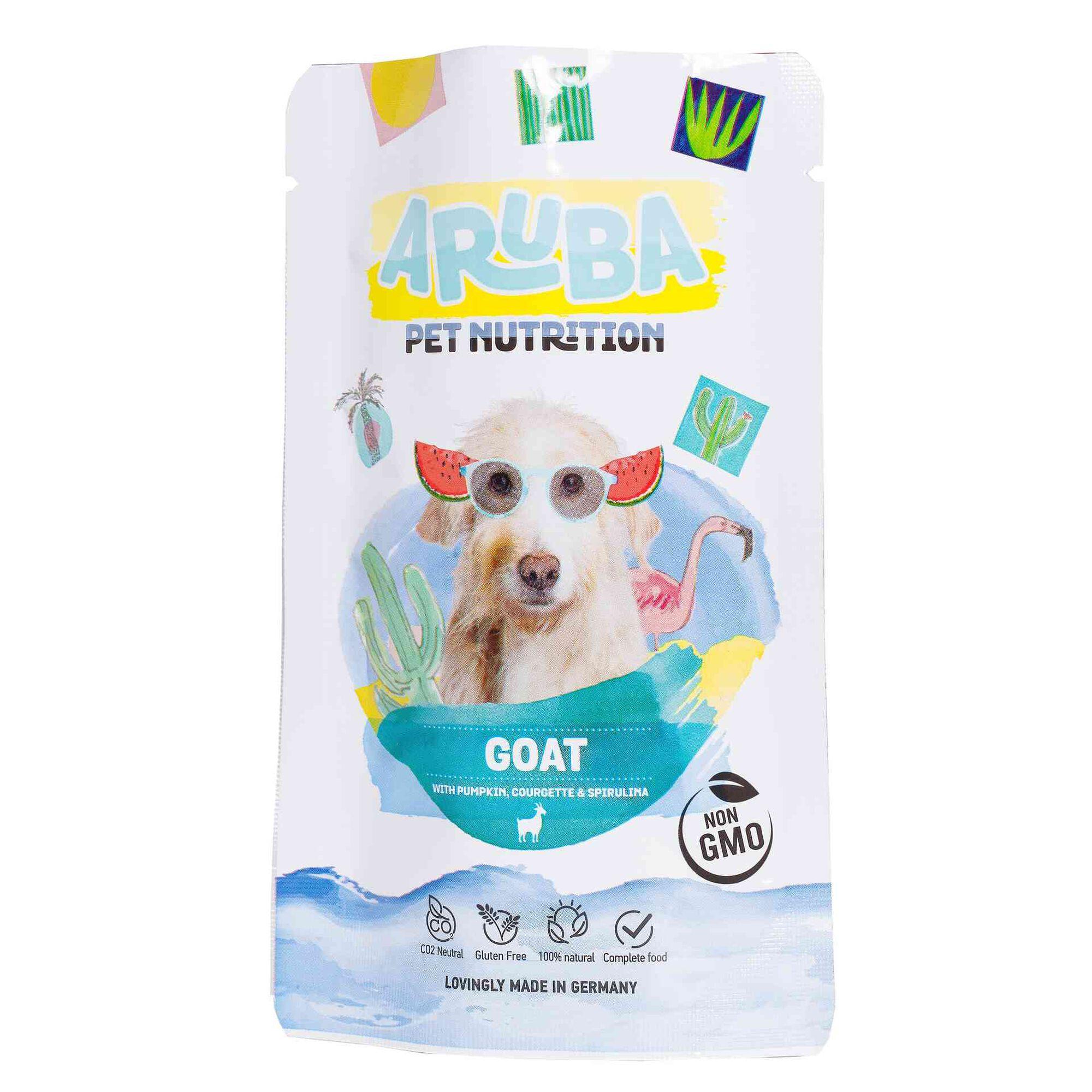 Comida húmida para Cão Cabra