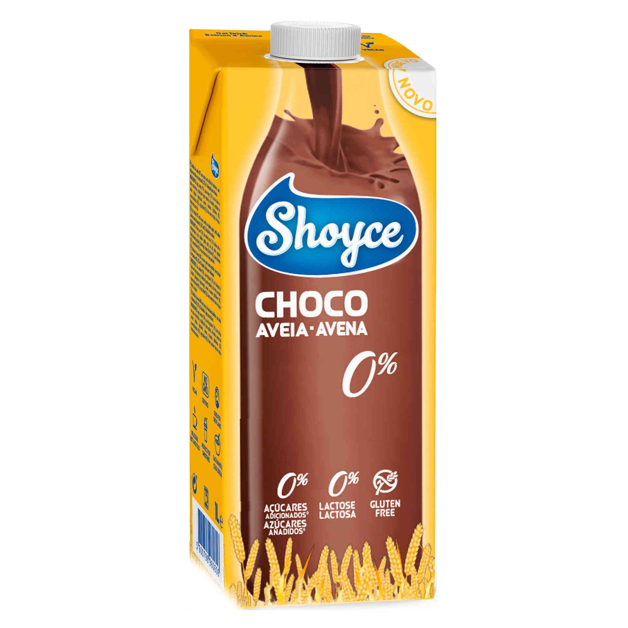 Bebida Vegetal de Aveia e Chocolate sem Açúcar e sem Lactose