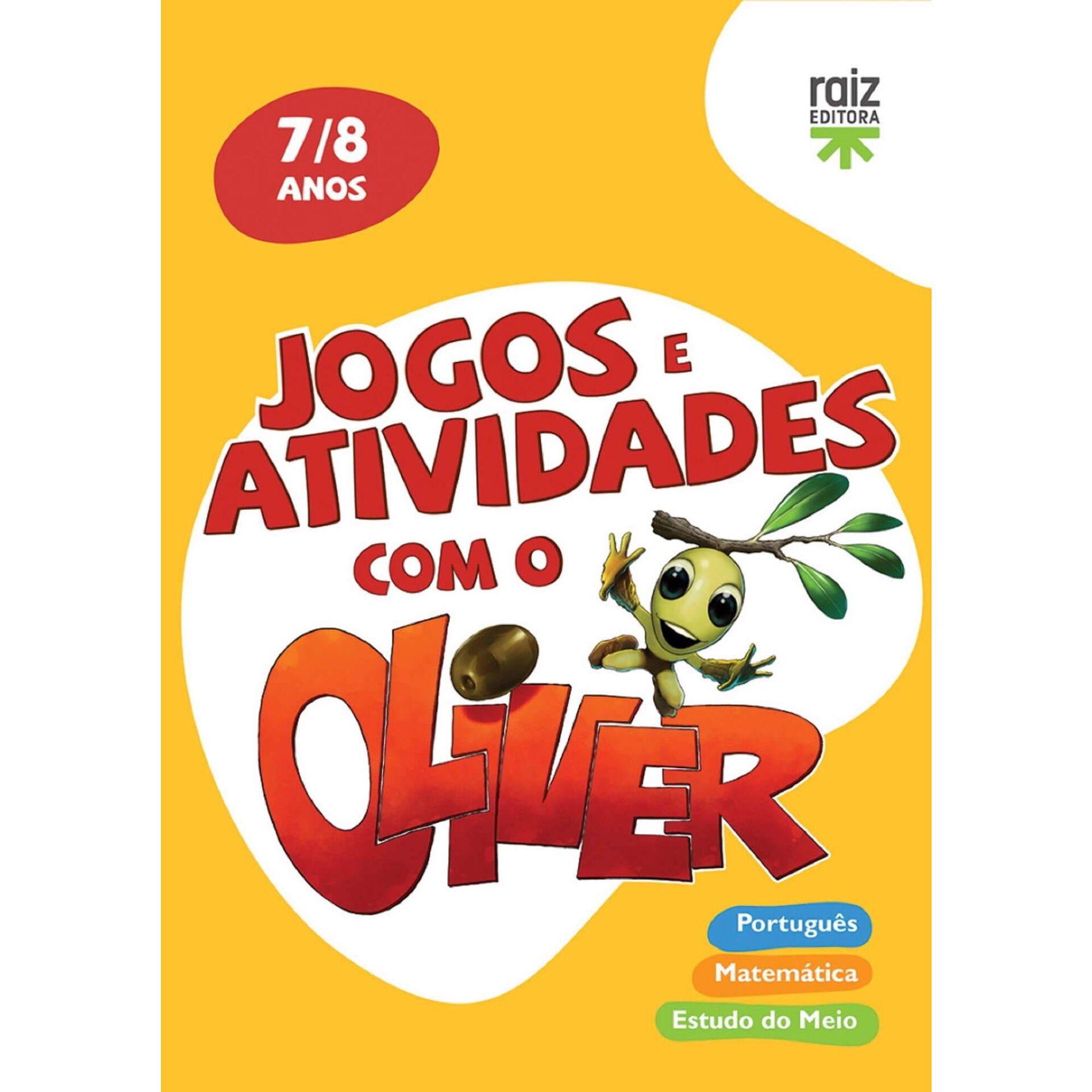 Jogos e Atividades com o Oliver - 7-8 Anos