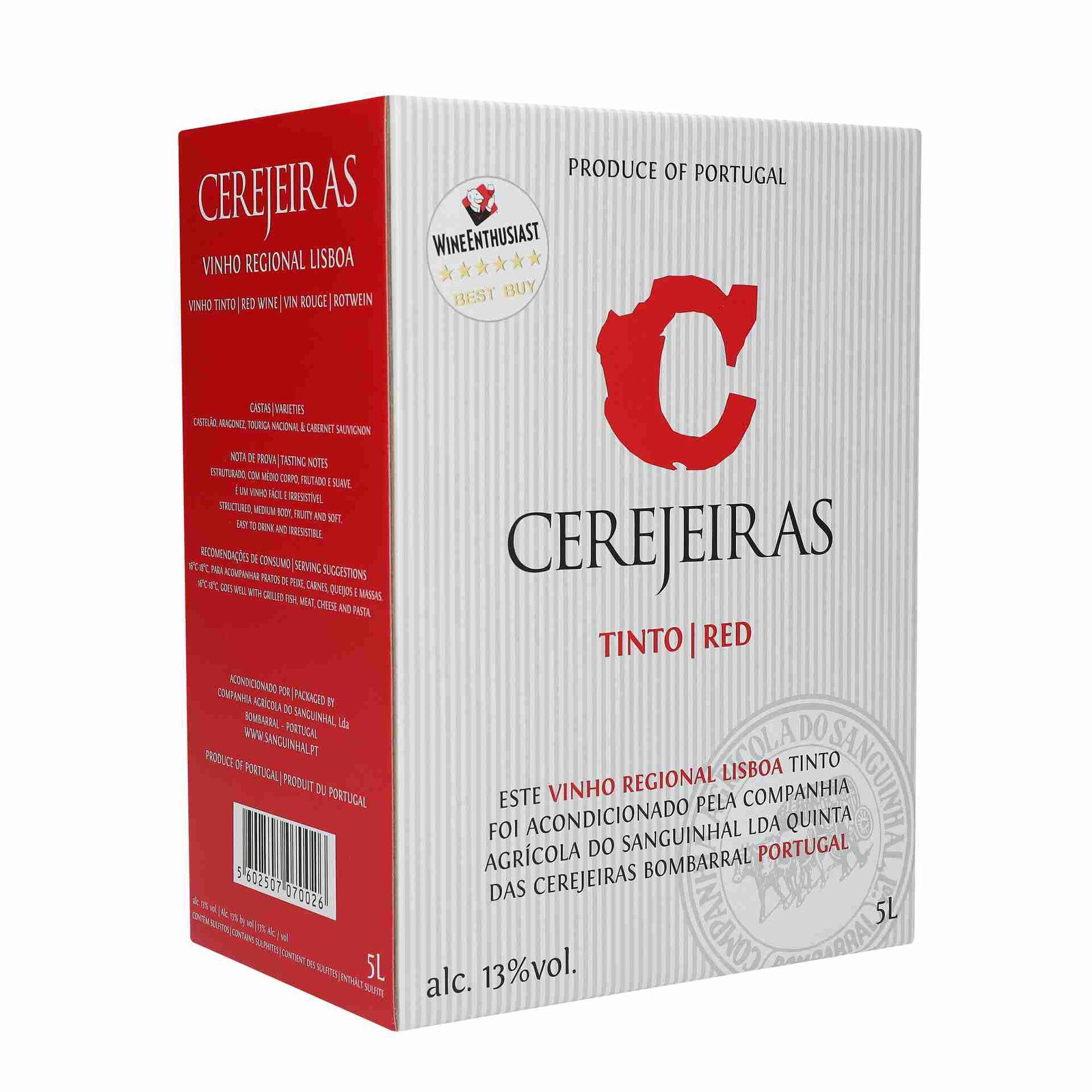 Cerejeiras Regional Lisboa Vinho Tinto