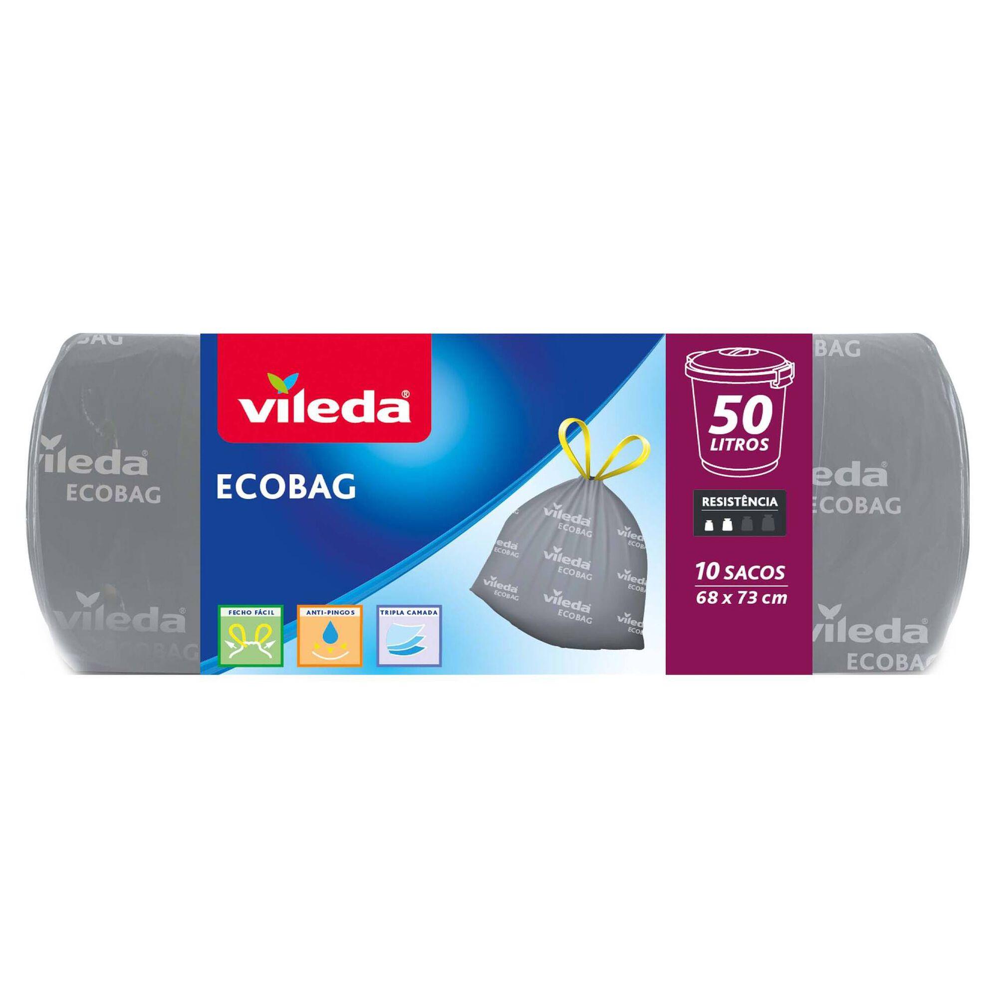 Sacos Lixo Ecobag 50 lt