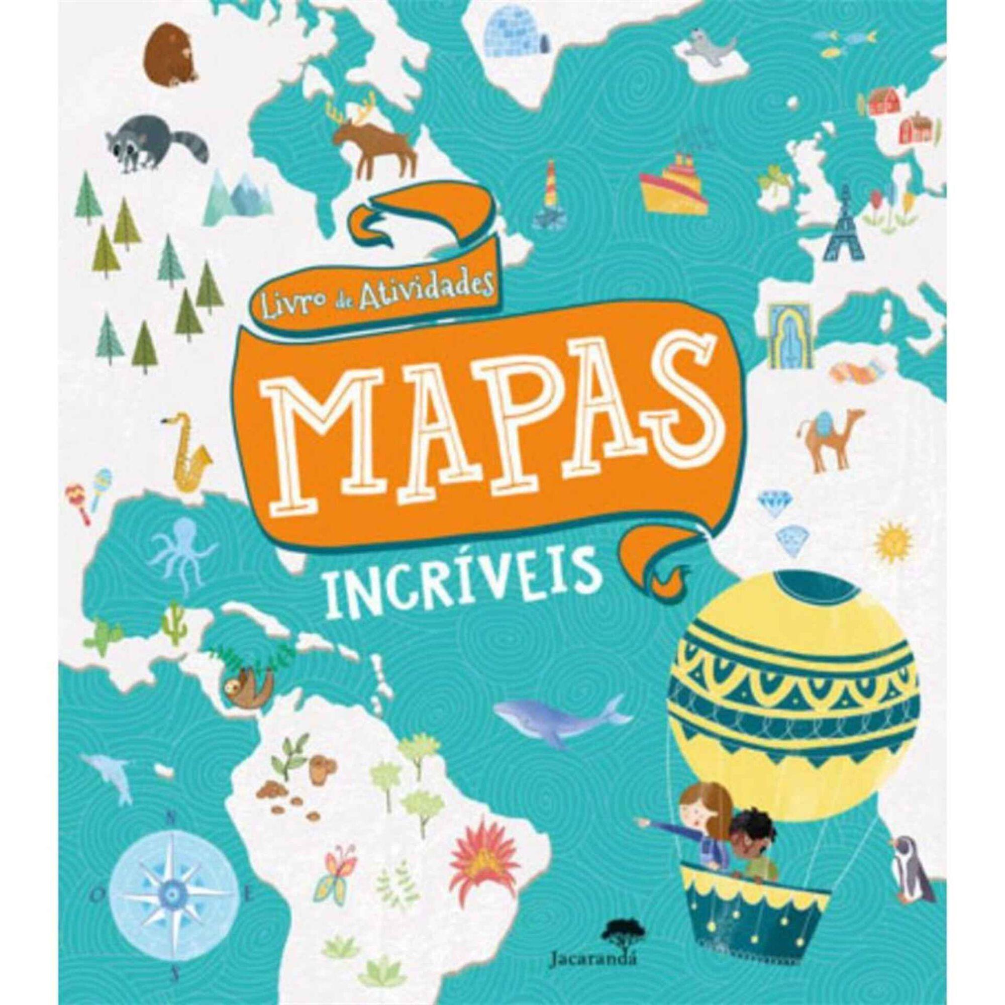 Livro de Atividades - Mapas Incríveis