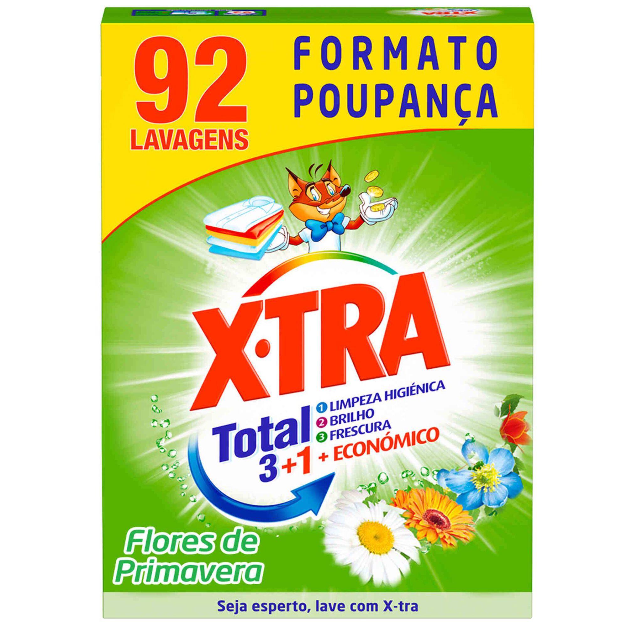 Detergente Máquina Roupa Pó Flor Primavera