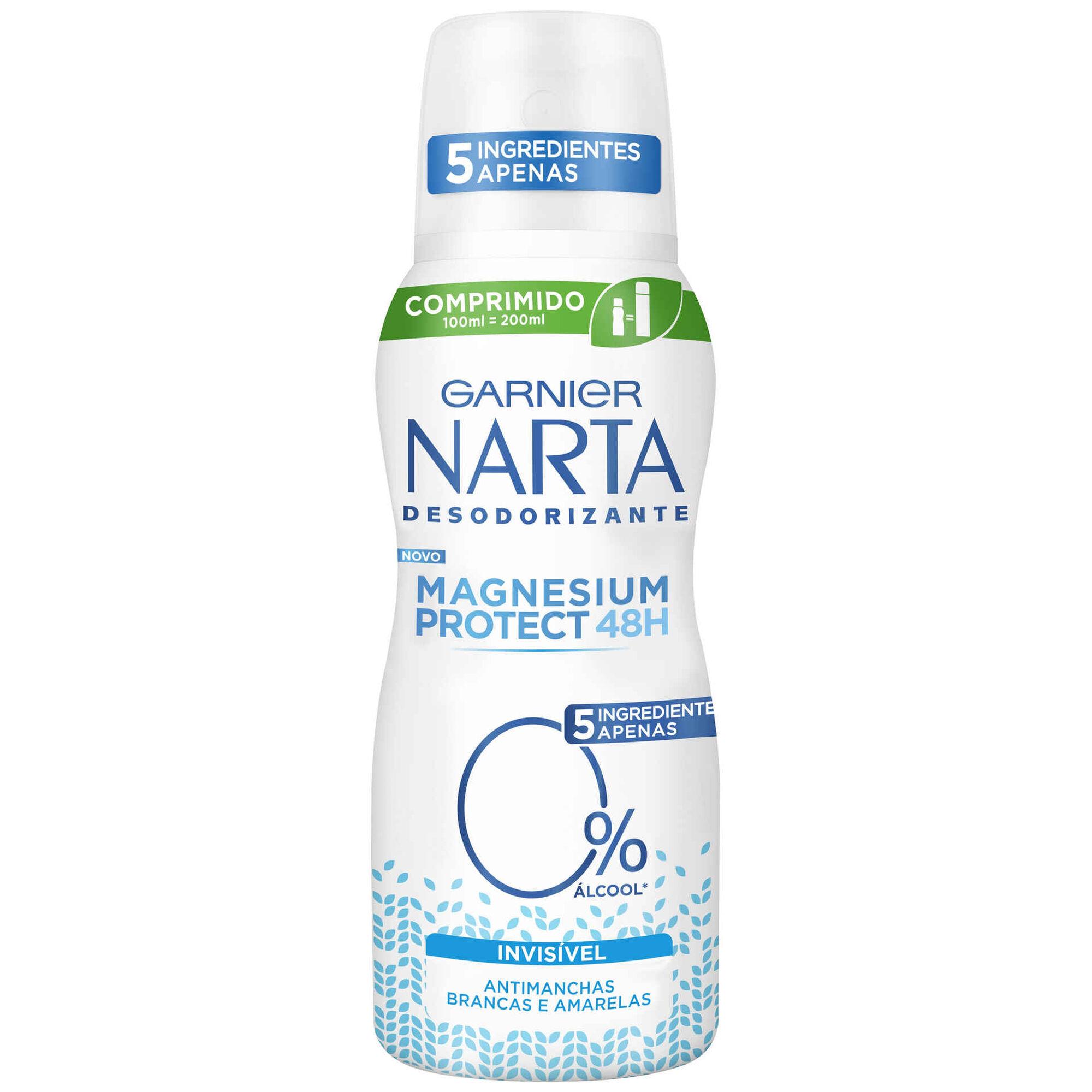 Desodorizante Spray Narta Invisível