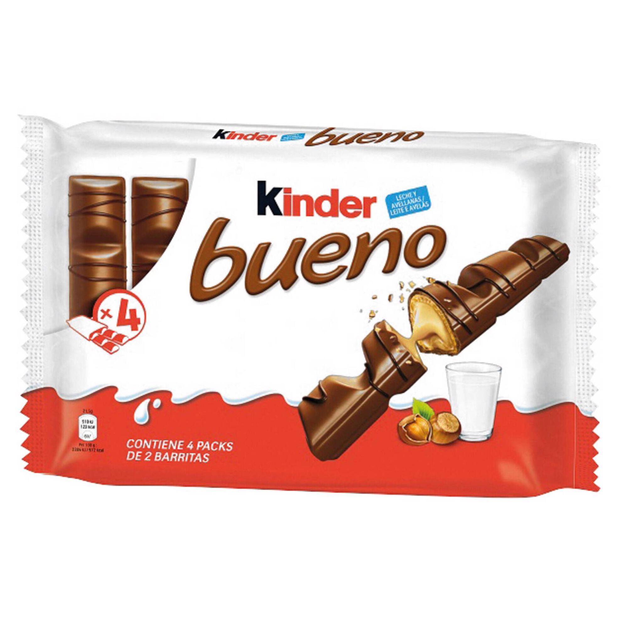 Snack de Chocolate de Leite Kinder Bueno