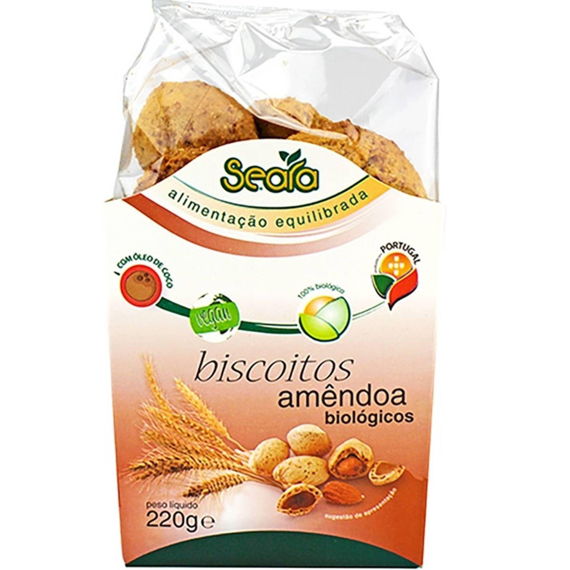Biscoitos de Amêndoa Biológicos