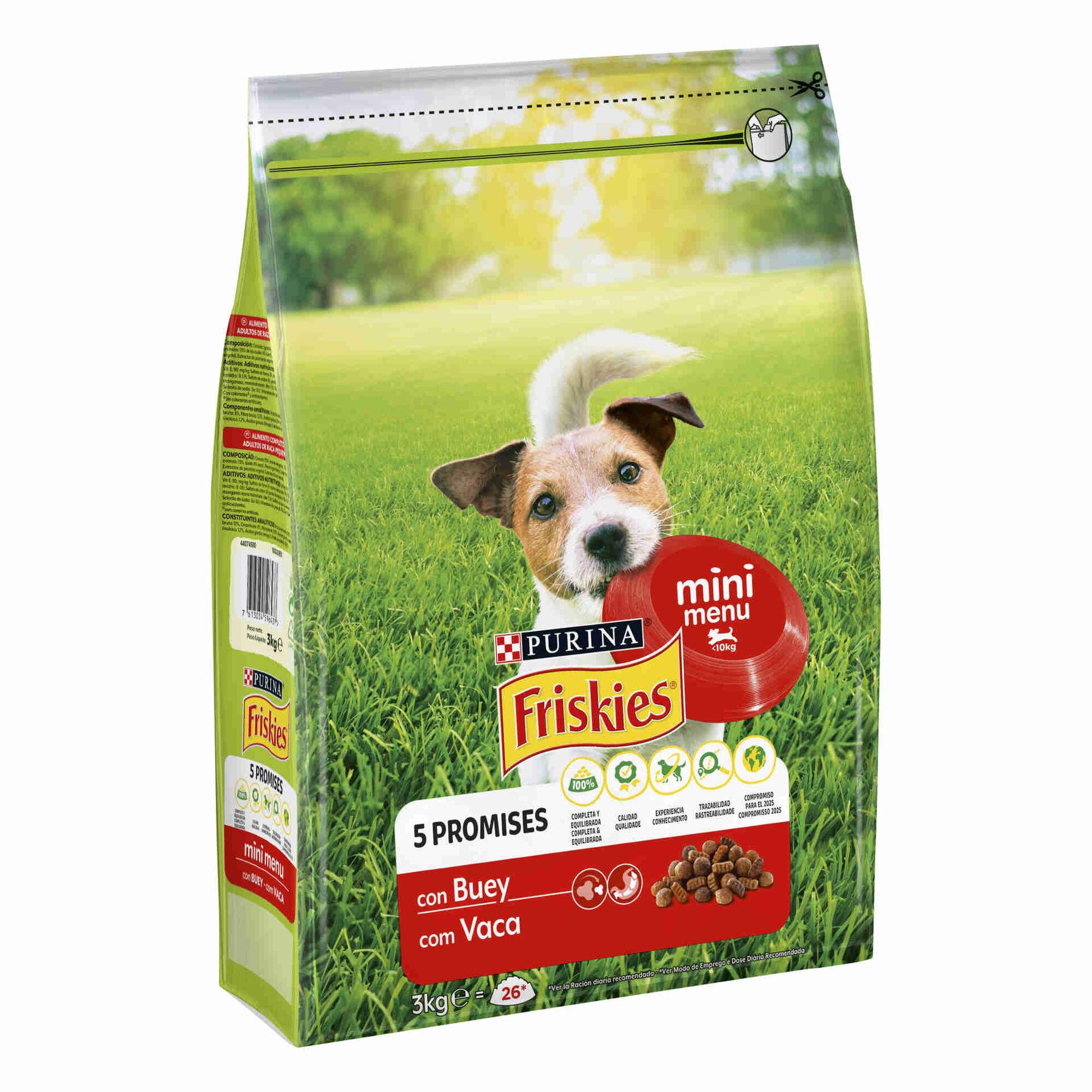 Ração para Cão Mini Menu VitaFit Vaca