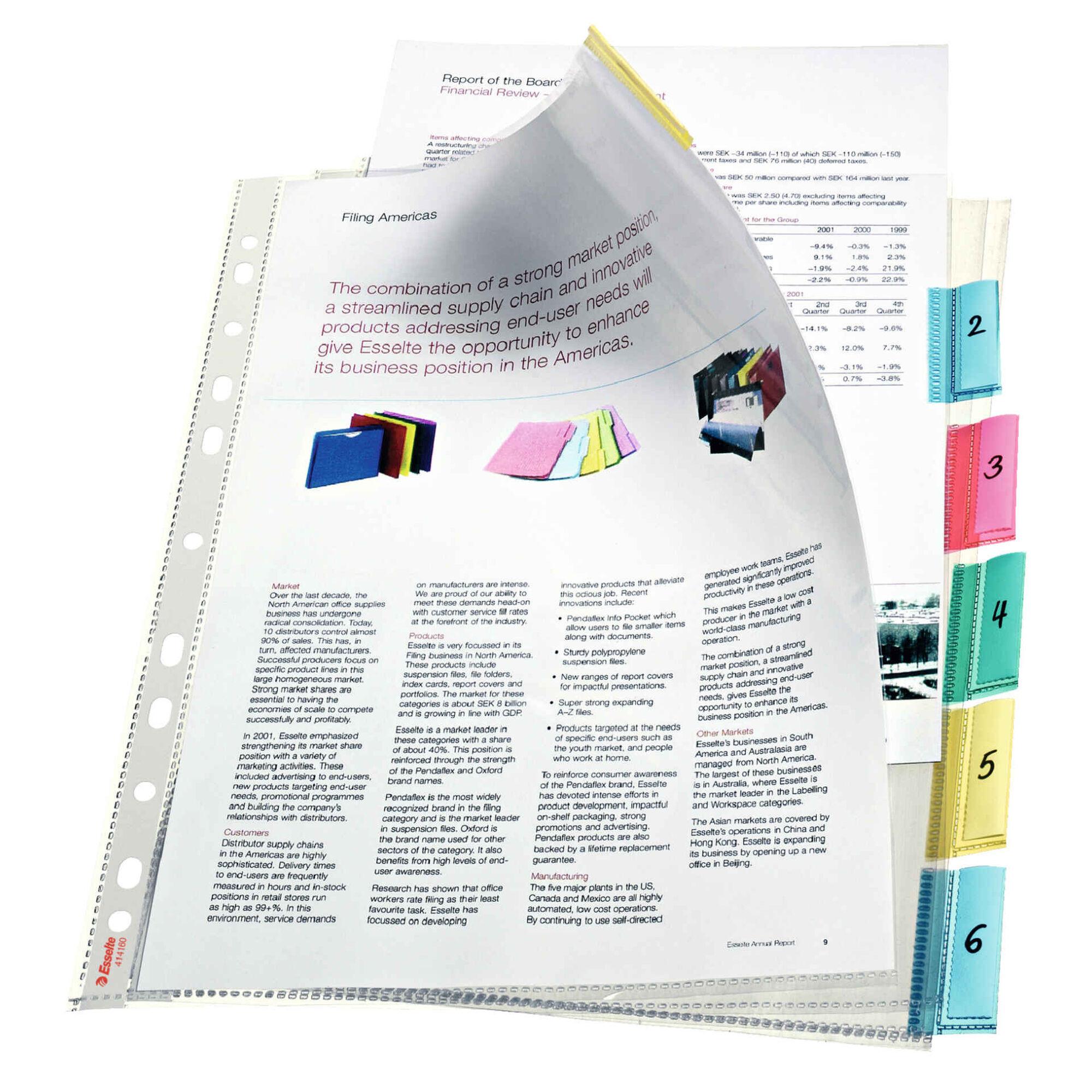 Bolsa Catálogo Transparente A4
