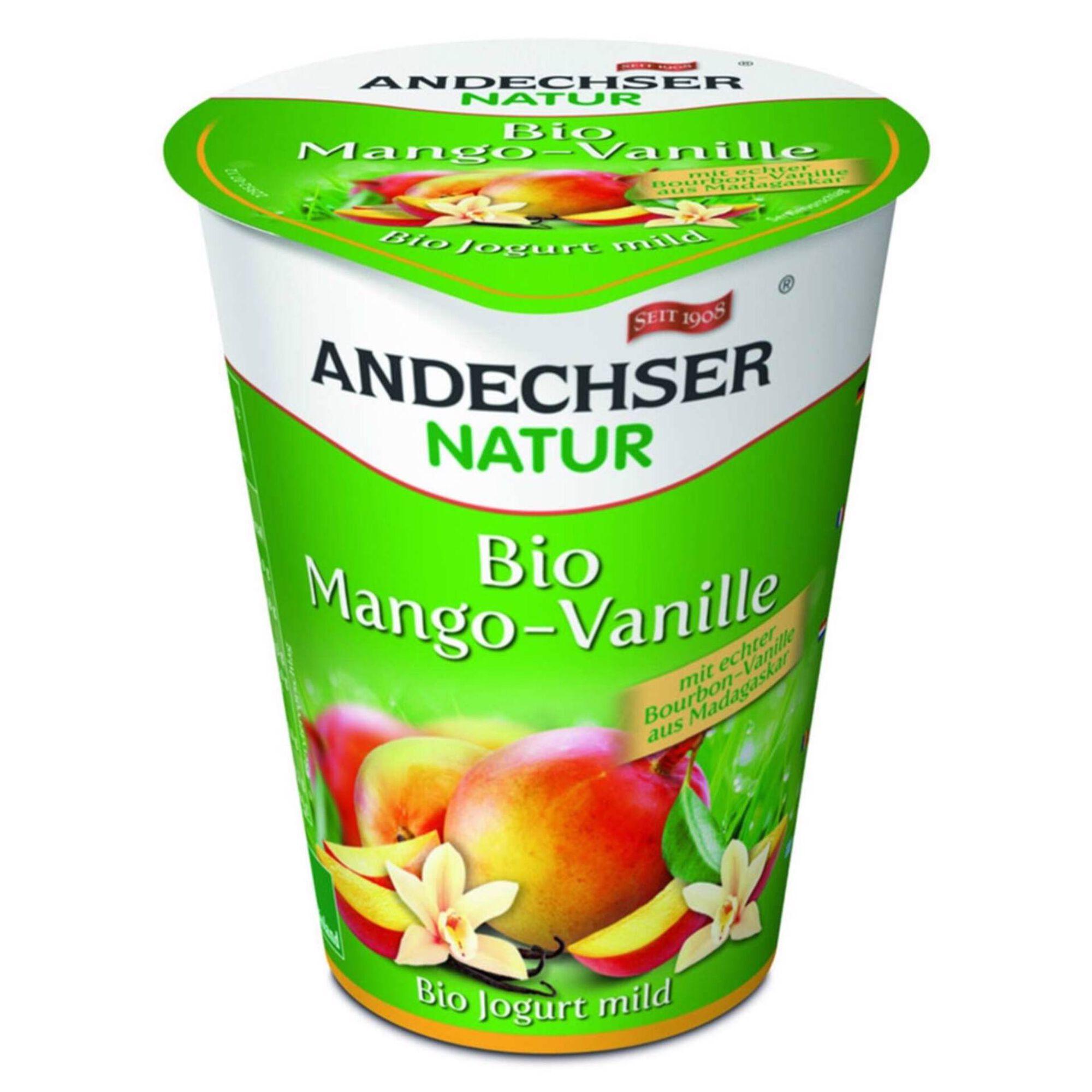 Iogurte Manga e Baunilha Biológico