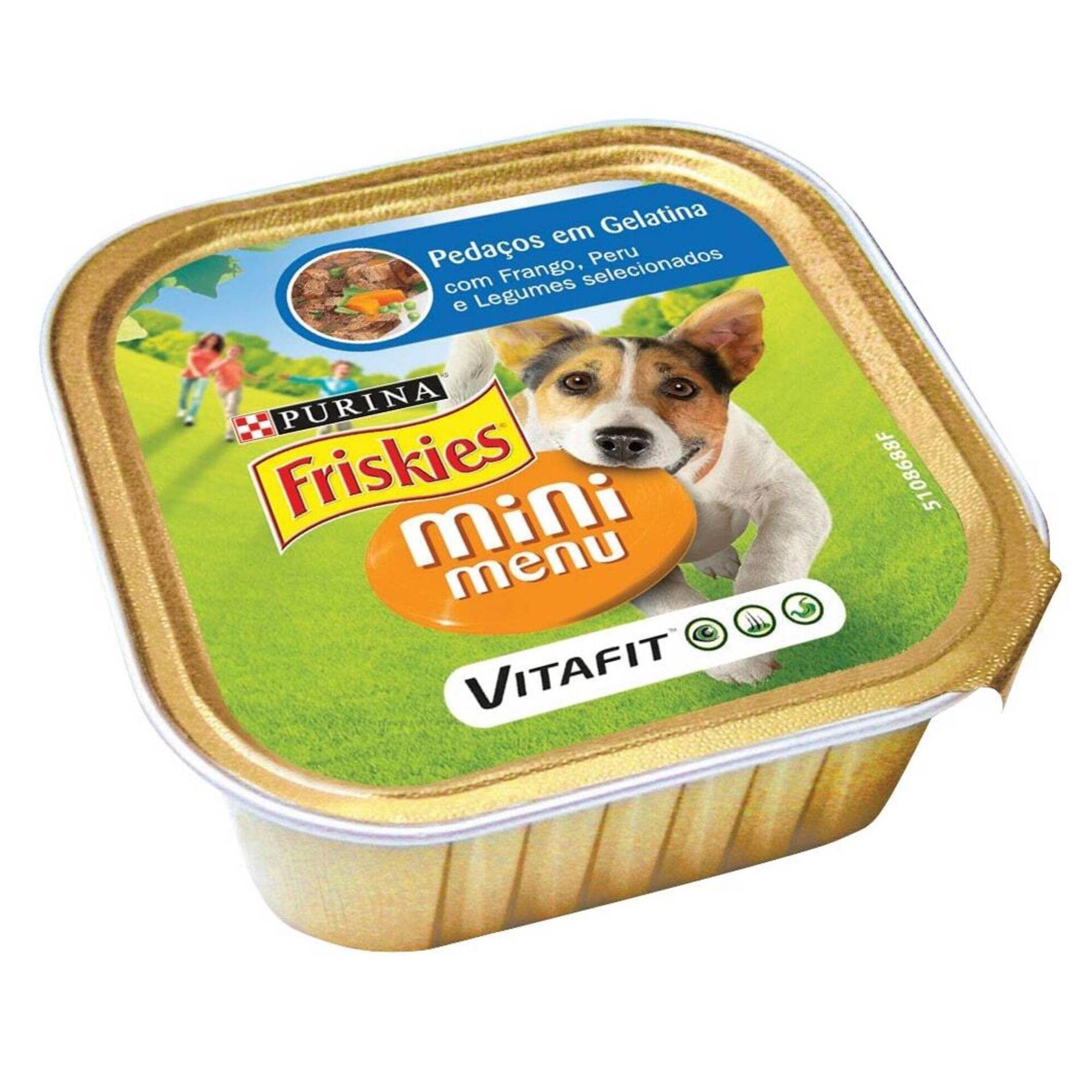 Comida Húmida para Cão Adulto Mini Pedaços Gelatina Terrina