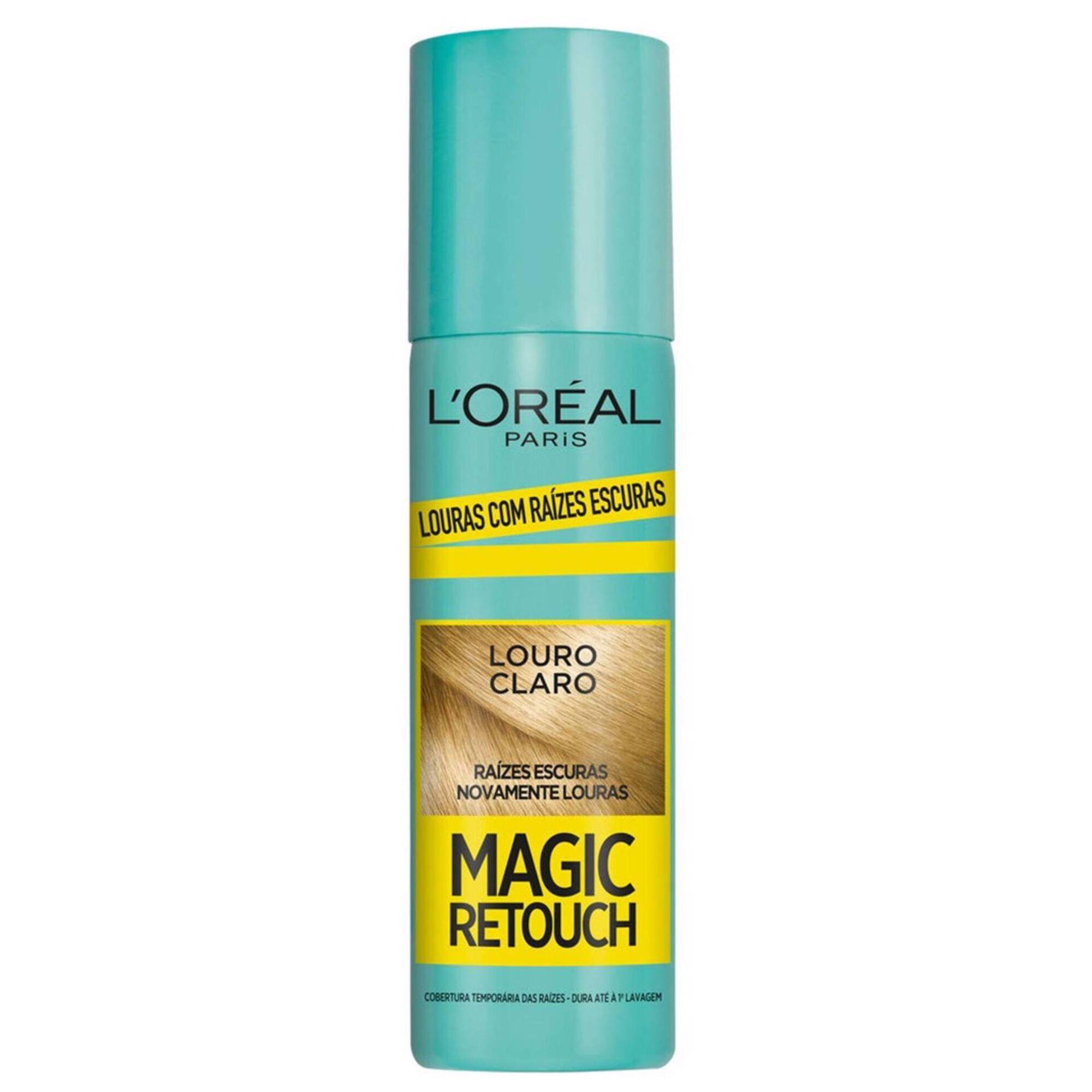 Coloração Retoca Raízes Magic Retouch Spray Louro Claro