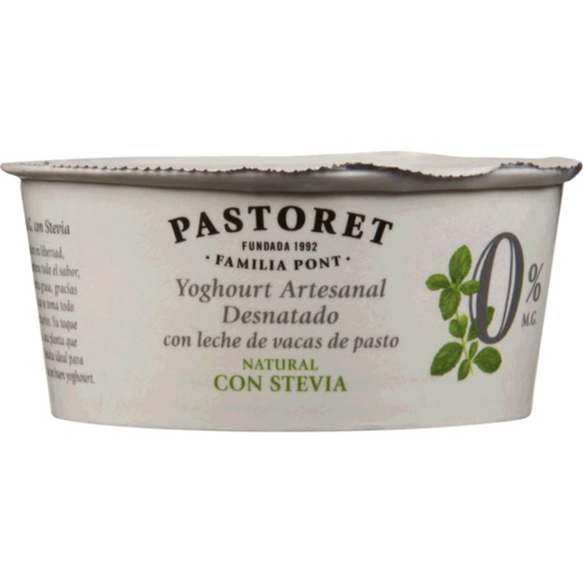 Iogurte Magro Natural com Stevia