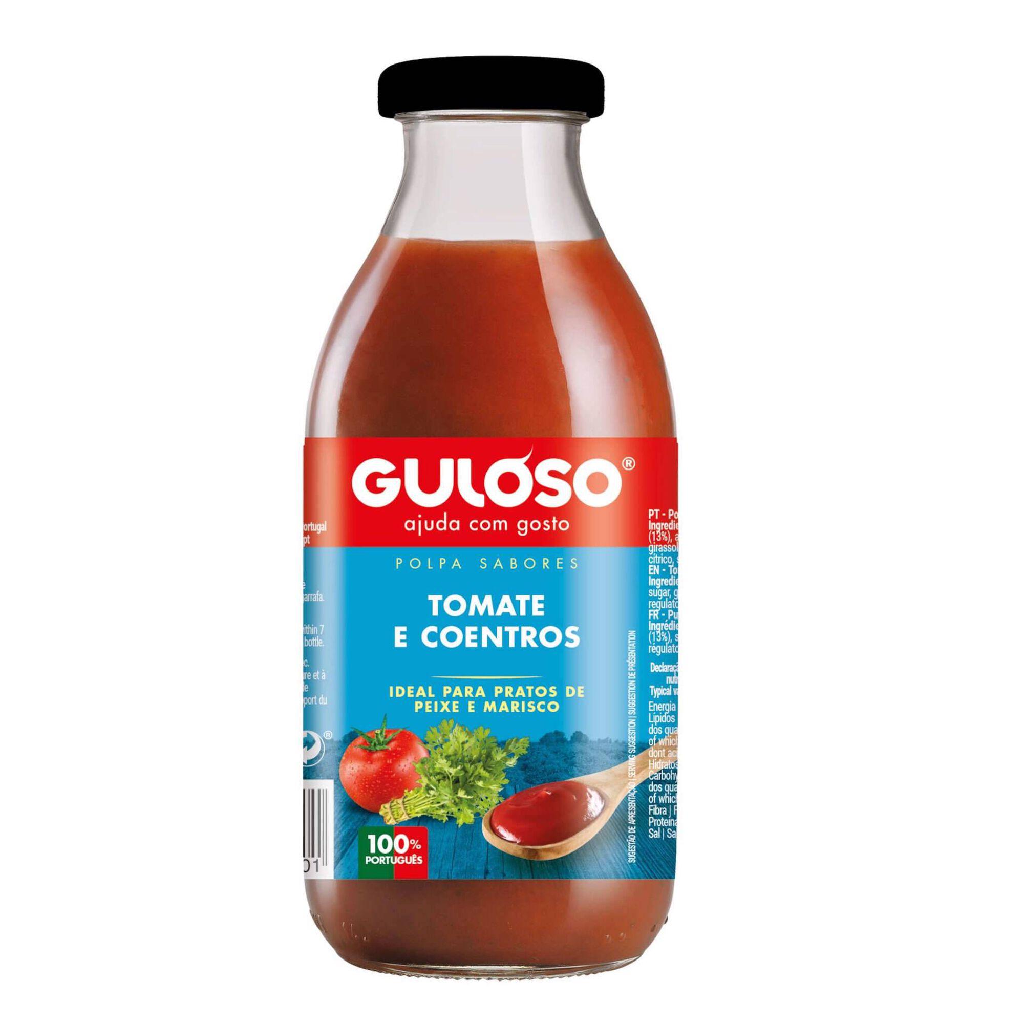 Polpa de Tomate e Coentros