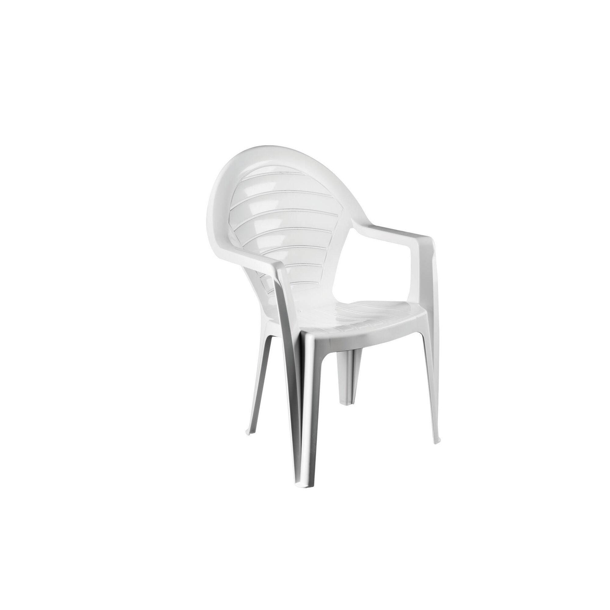 Cadeira de Resina Costas Altas Ofir