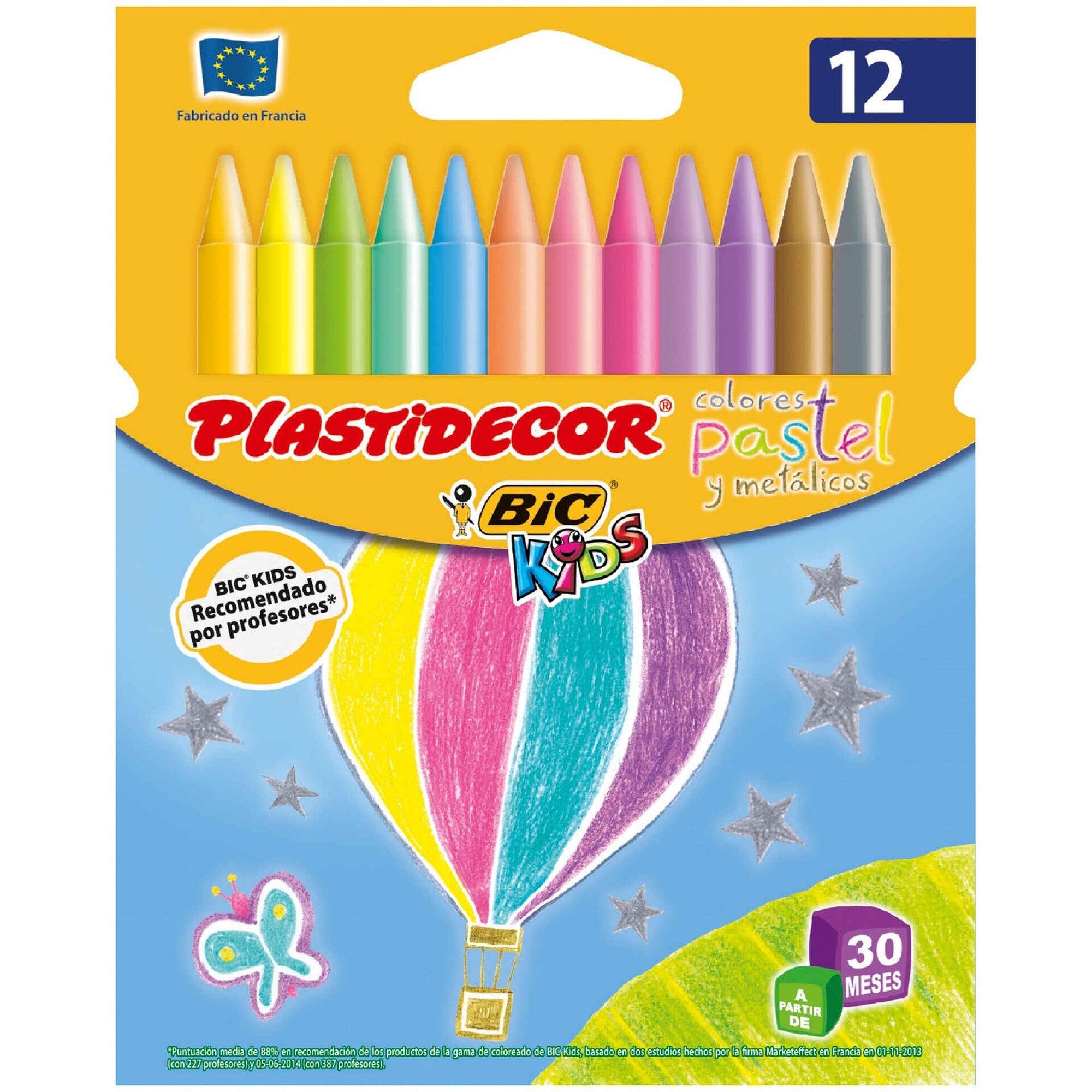 Lápis de Cera Kids Plastidecor