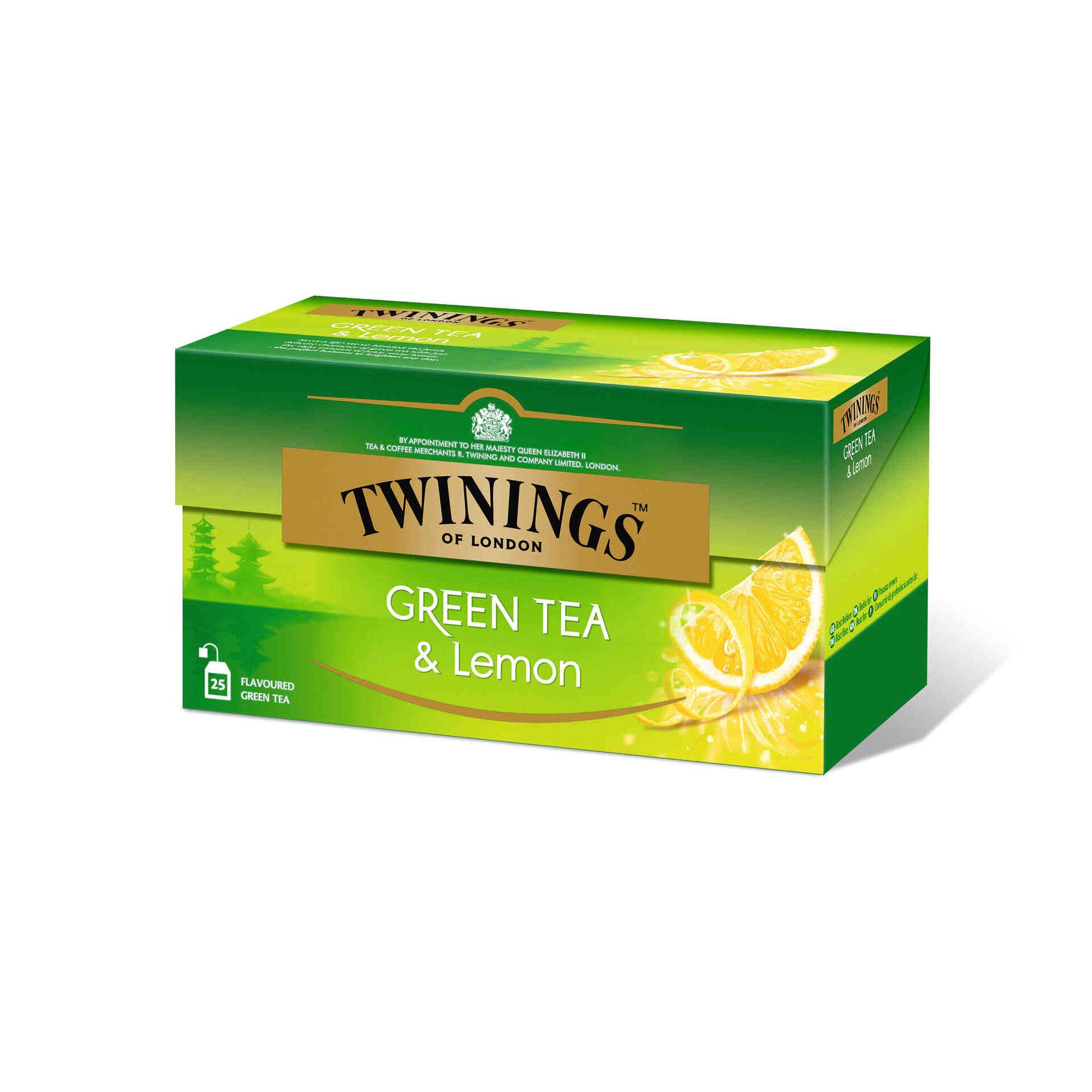 Chá Verde e Limão Saquetas