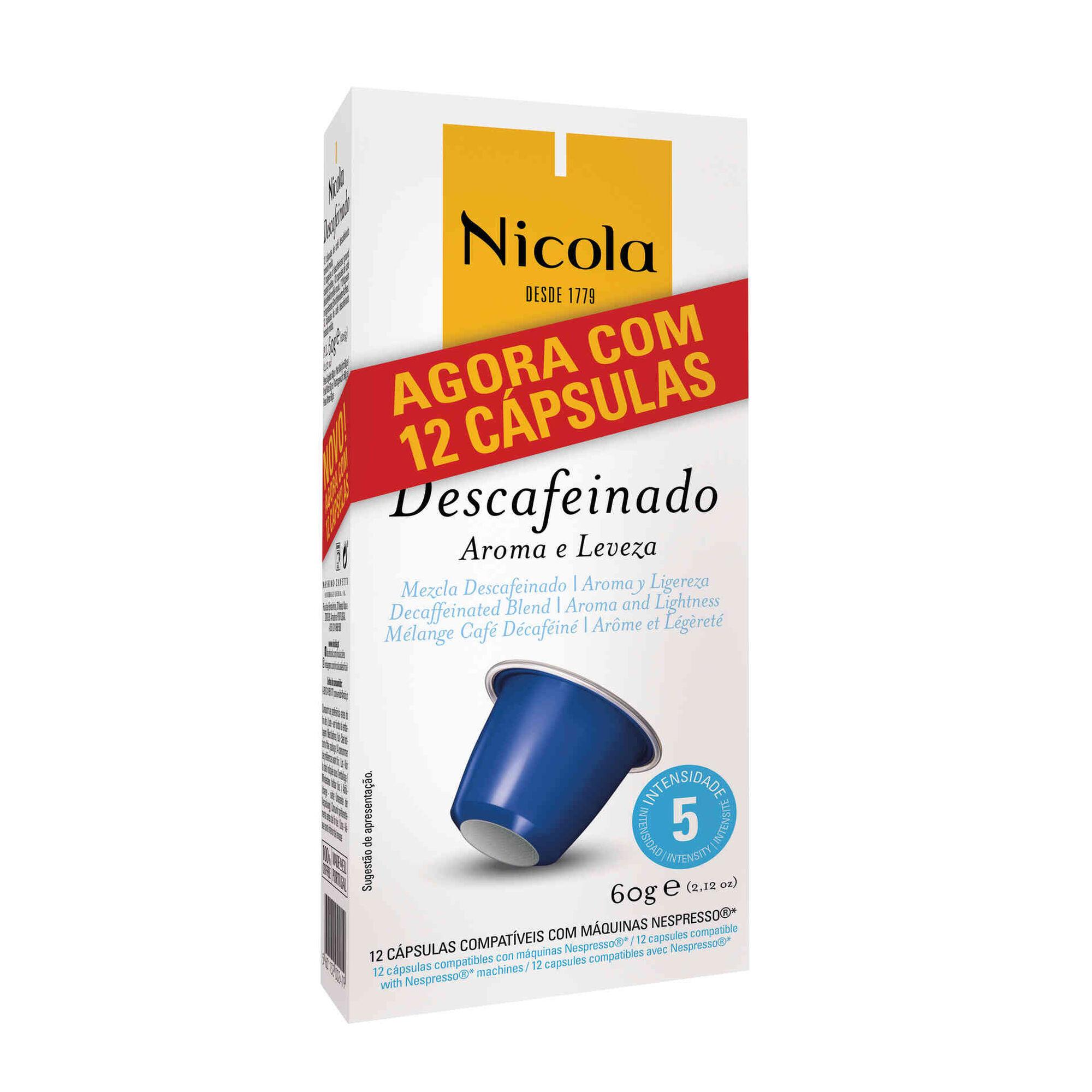 Cápsulas de Café Descafeinado Compatível com Nespresso Int 5