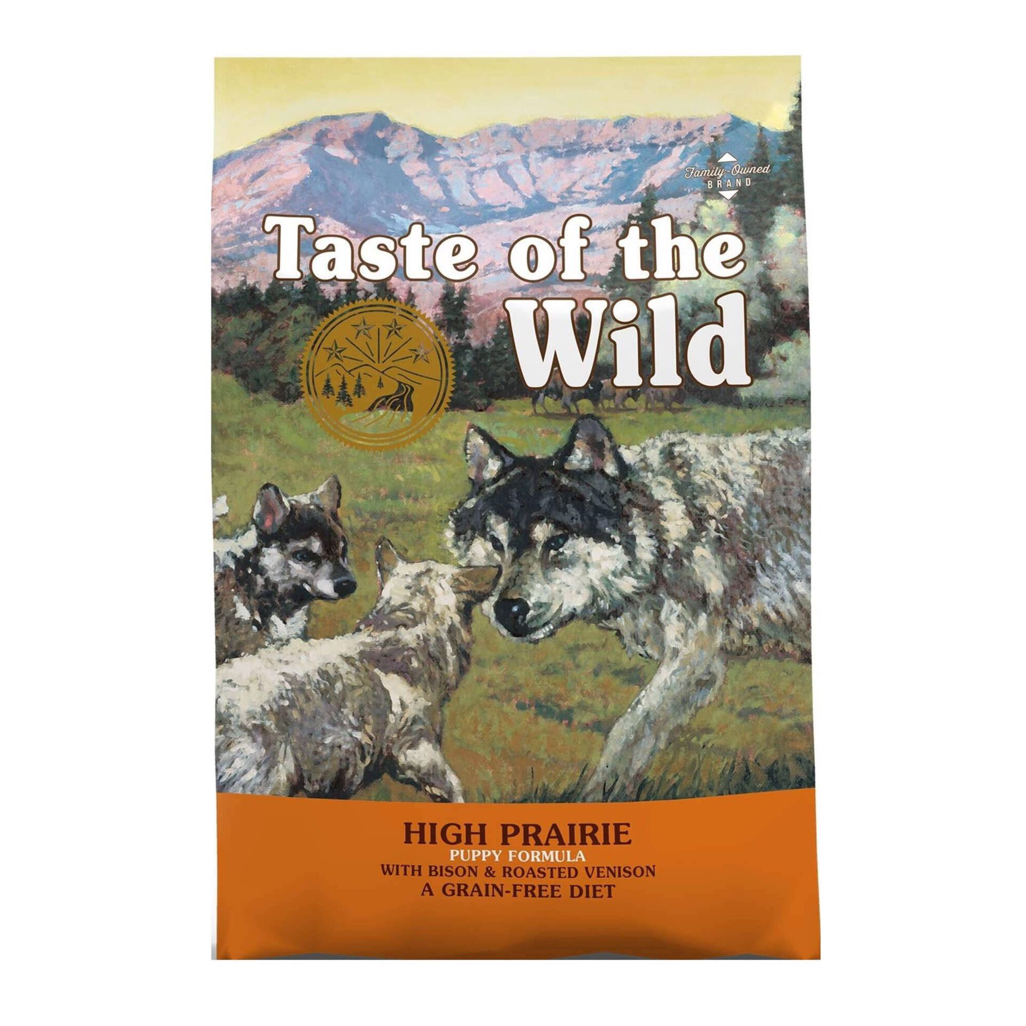 Ração para Cão Júnior High Prairie Grain Free