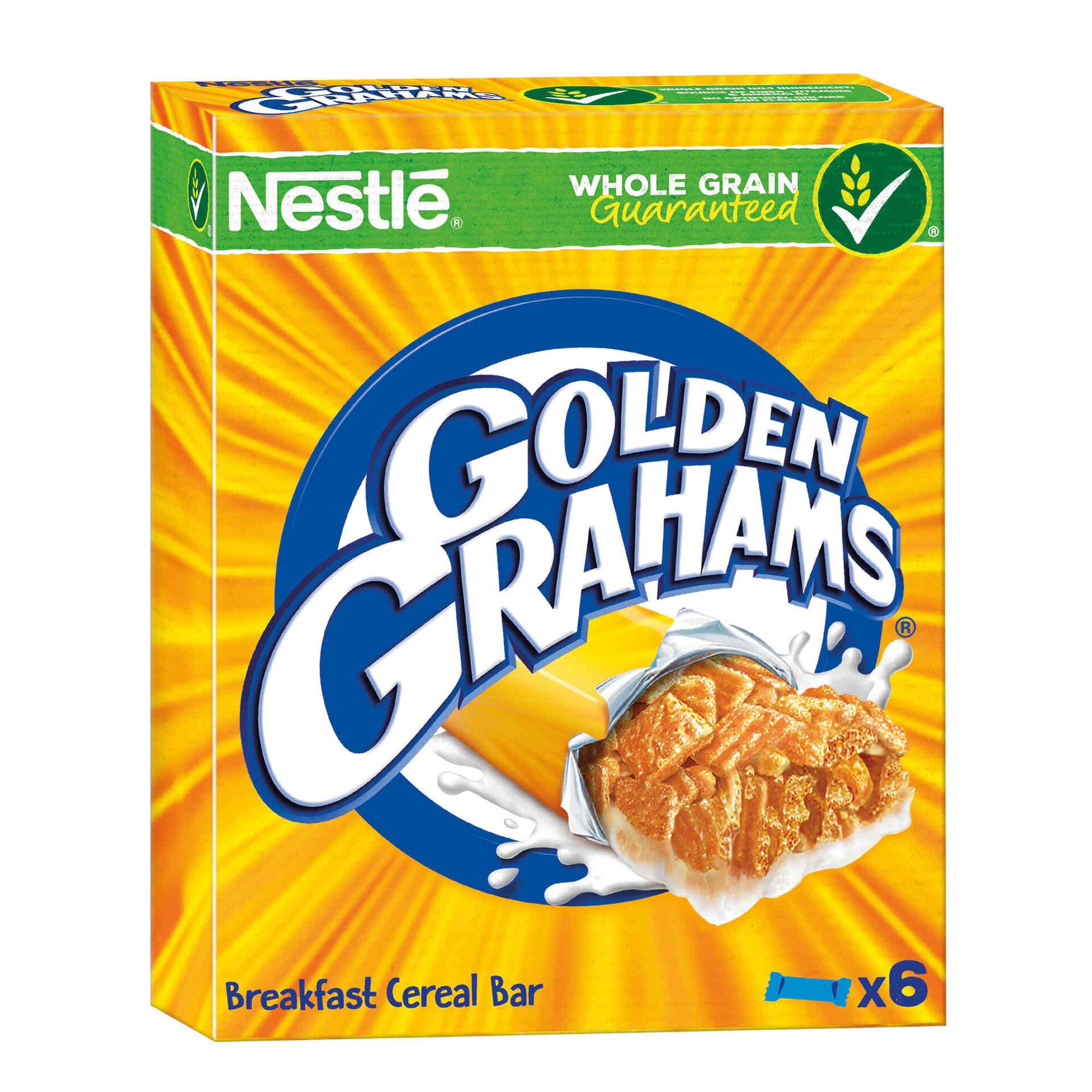 Barras de Cereais Golden Grahams