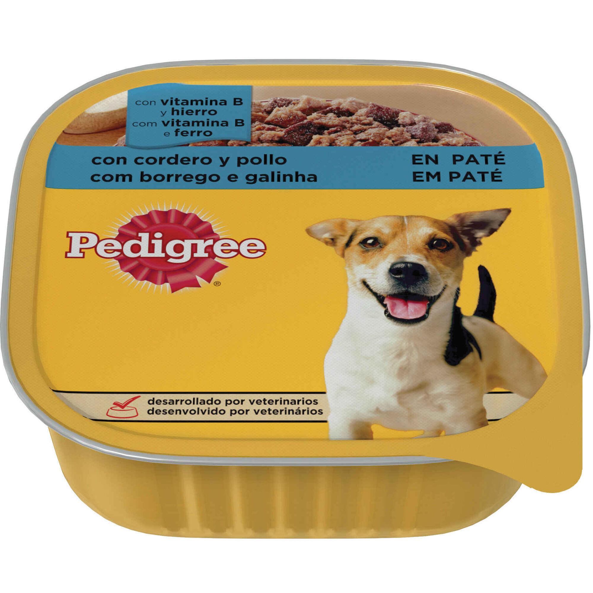 Comida Húmida para Cão Adulto Borrego e Galinha Terrina