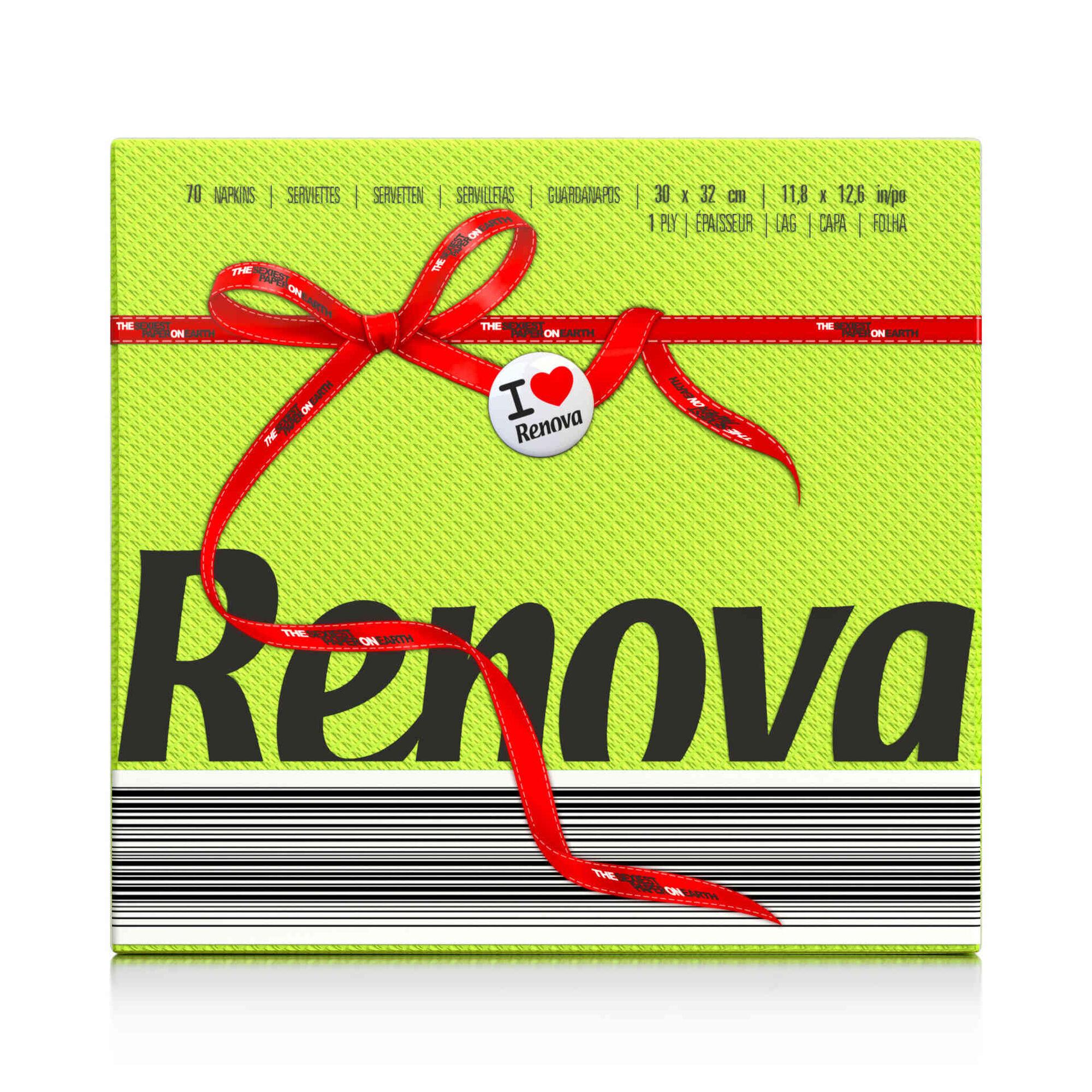 Guardanapos 1 Folha Red Label Green