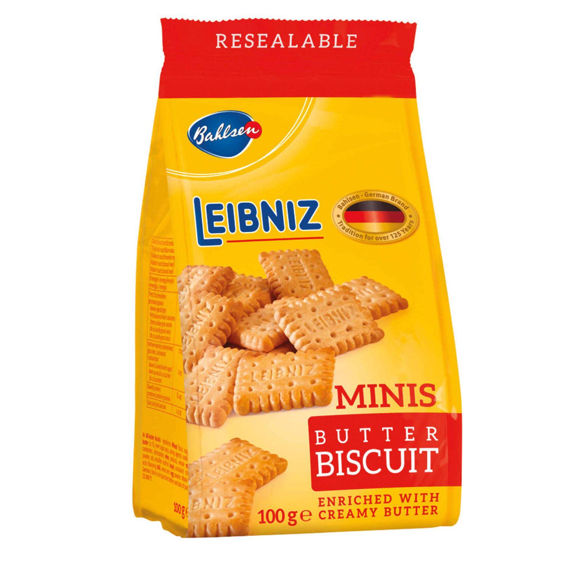 Bolachas de Manteiga Mini Leibniz