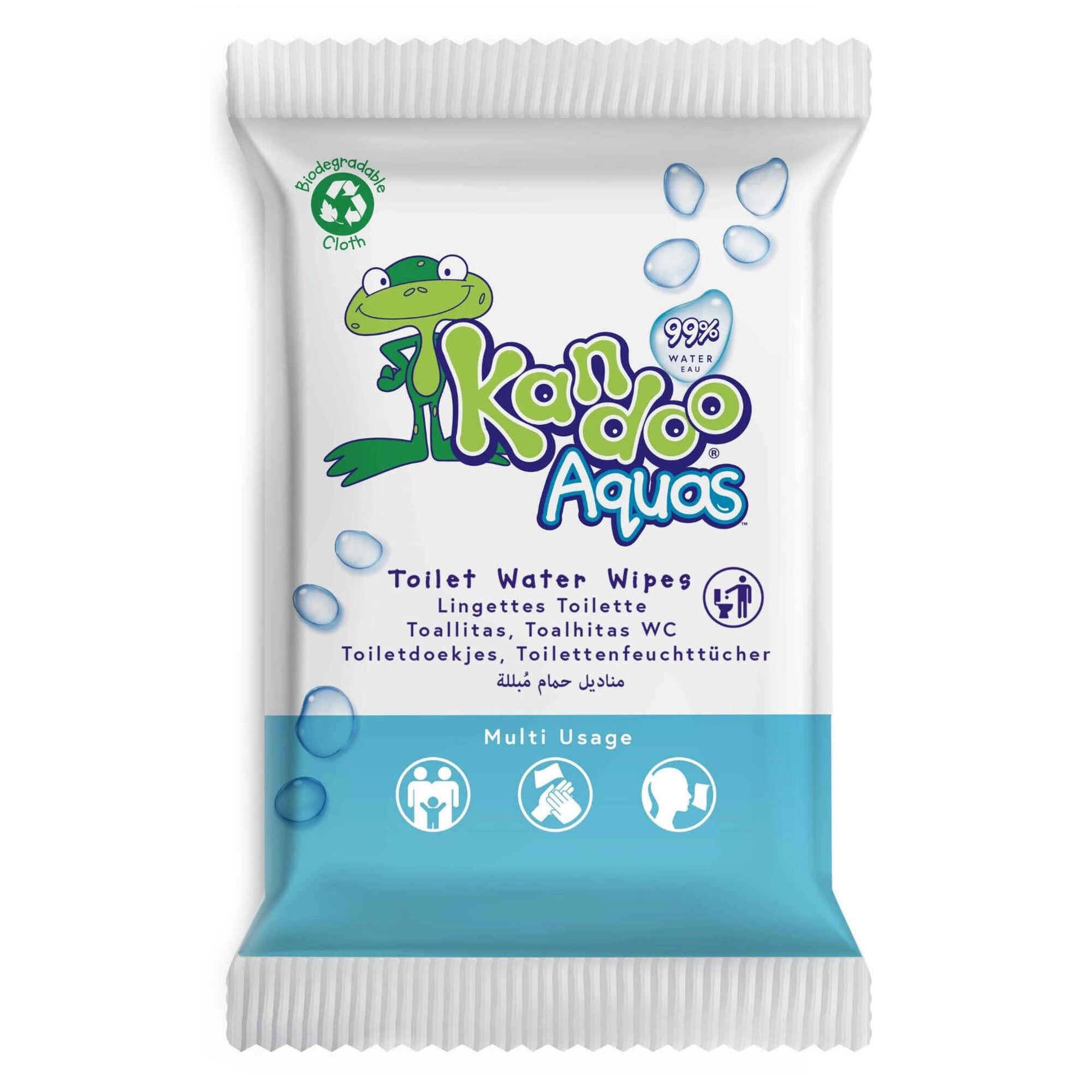 Toalhitas Bebé Aquas Biodegradáveis