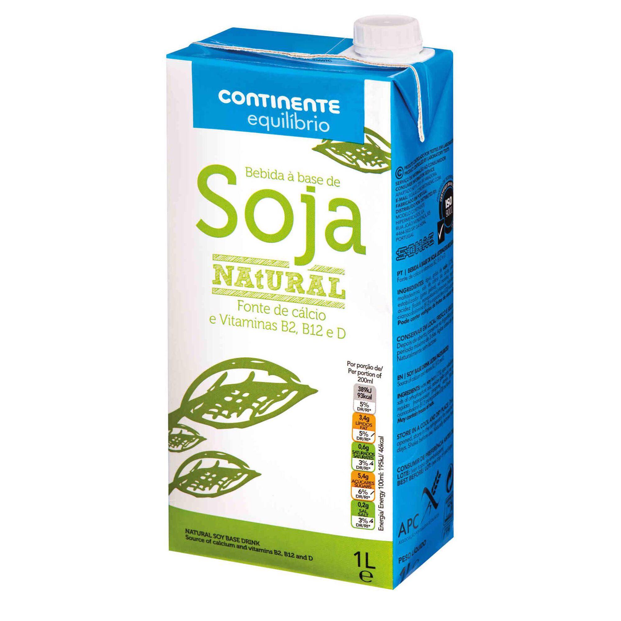 Bebida Vegetal de Soja Natural