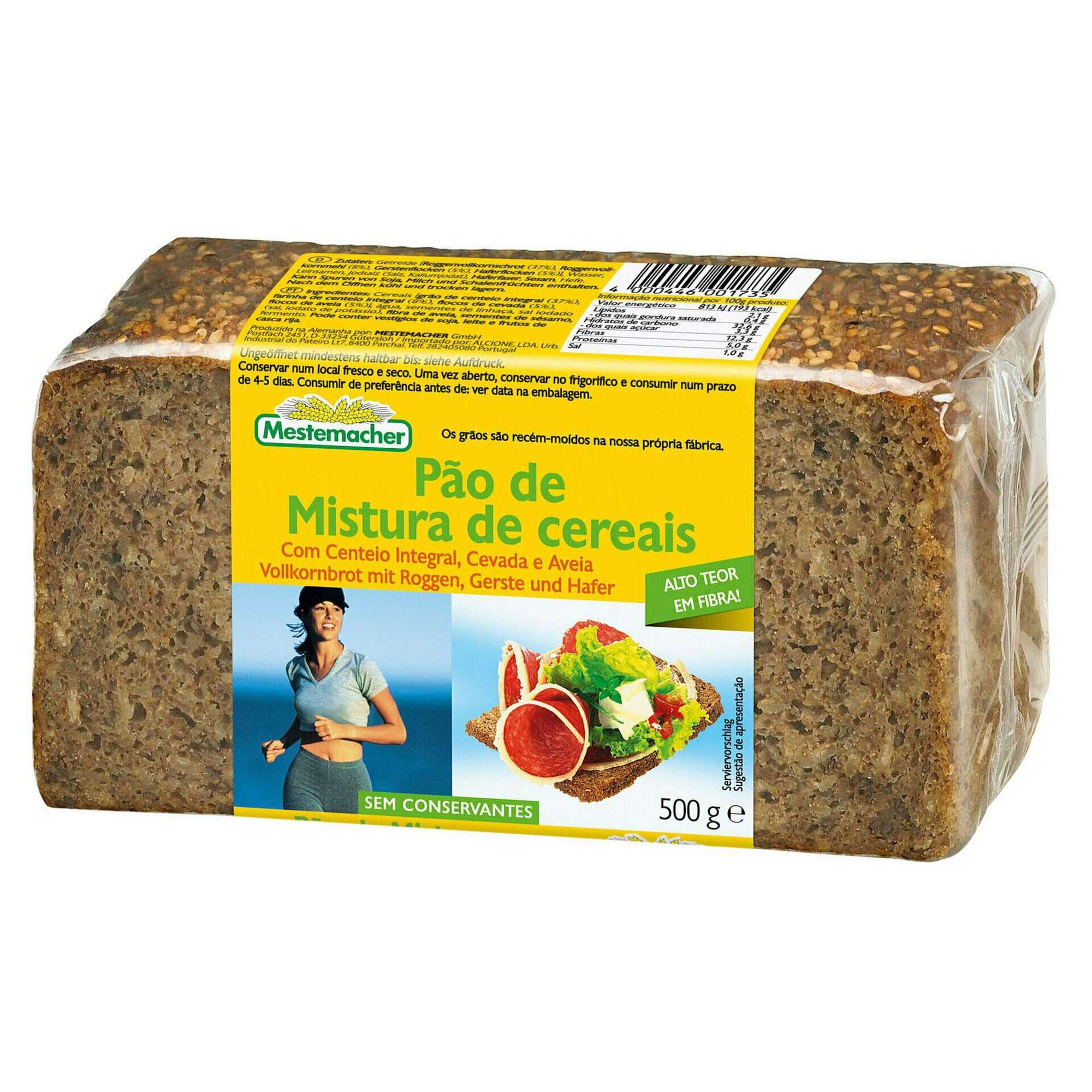 Pão Mistura 4 Cereais