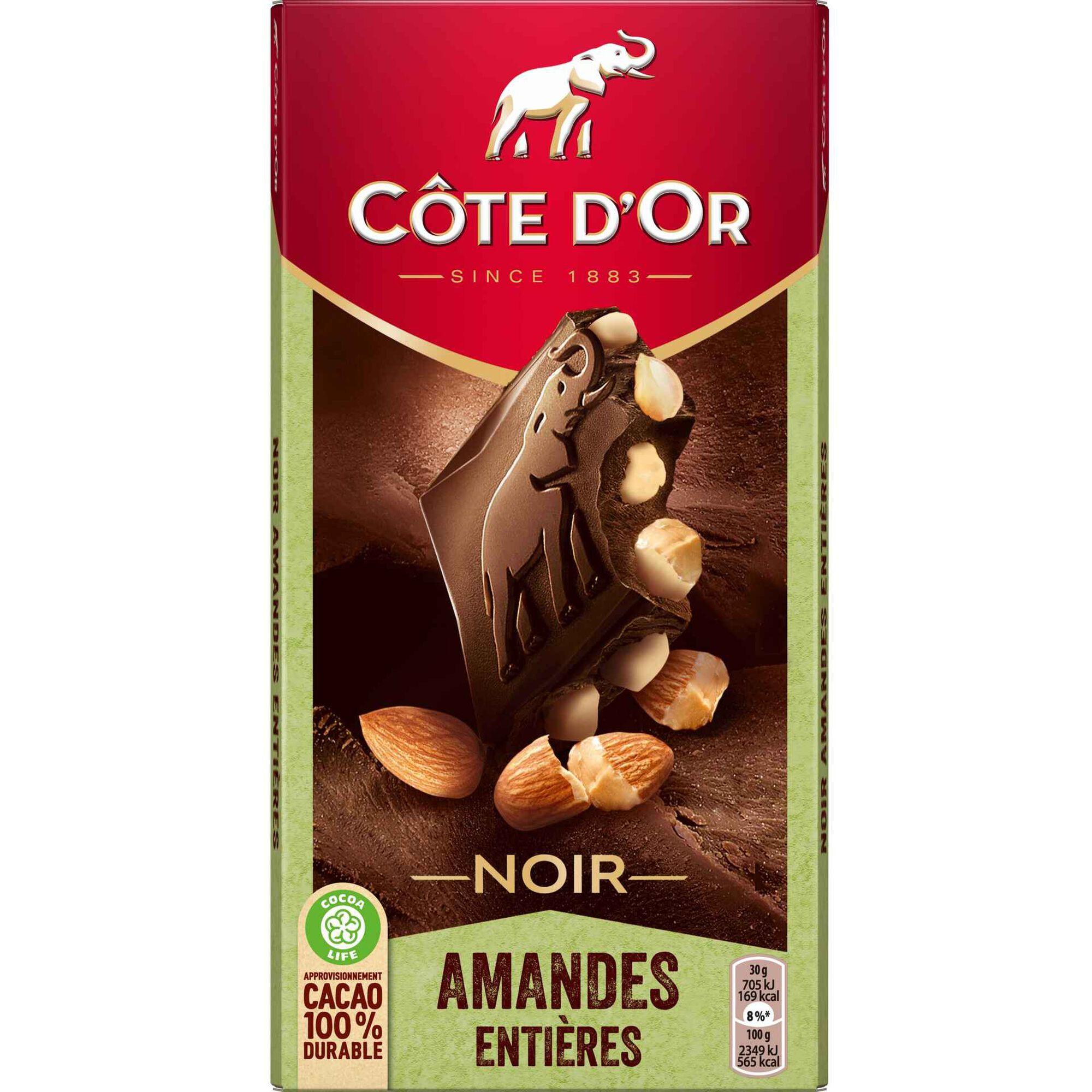 Tablete de Chocolate Negro com Amêndoa