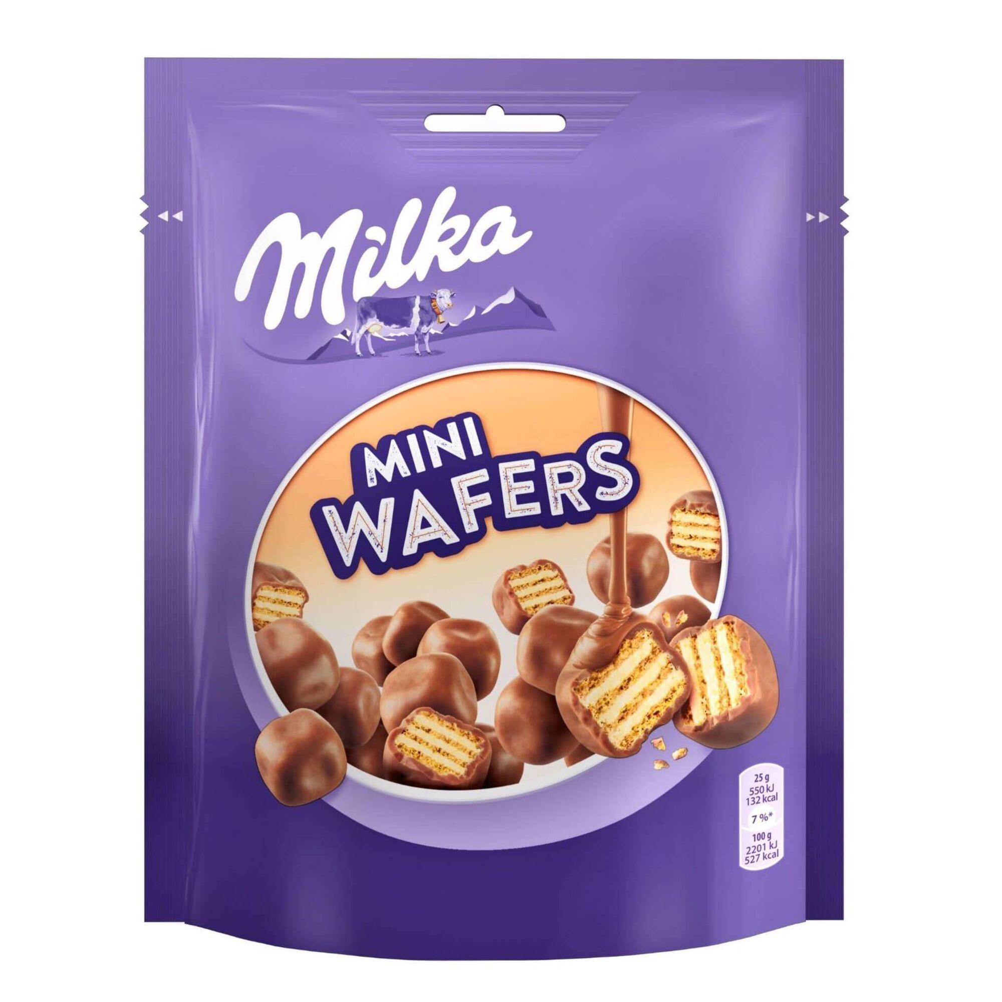 Bolachas Mini Wafers