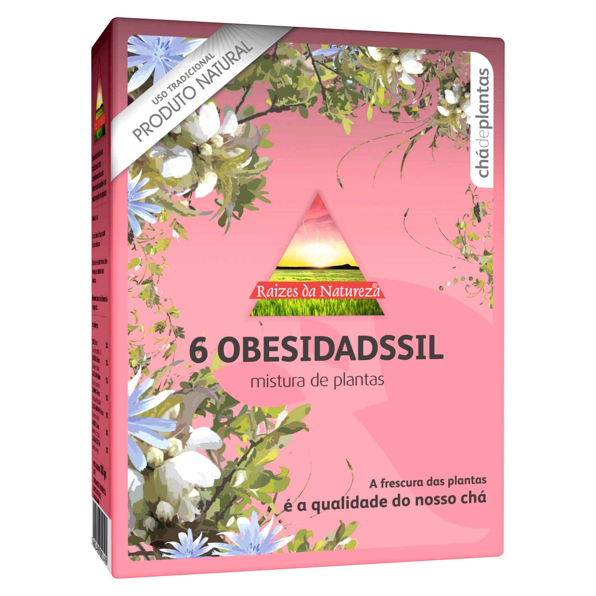 Chá de Plantas Nº6 Obesidadssil Saquetas