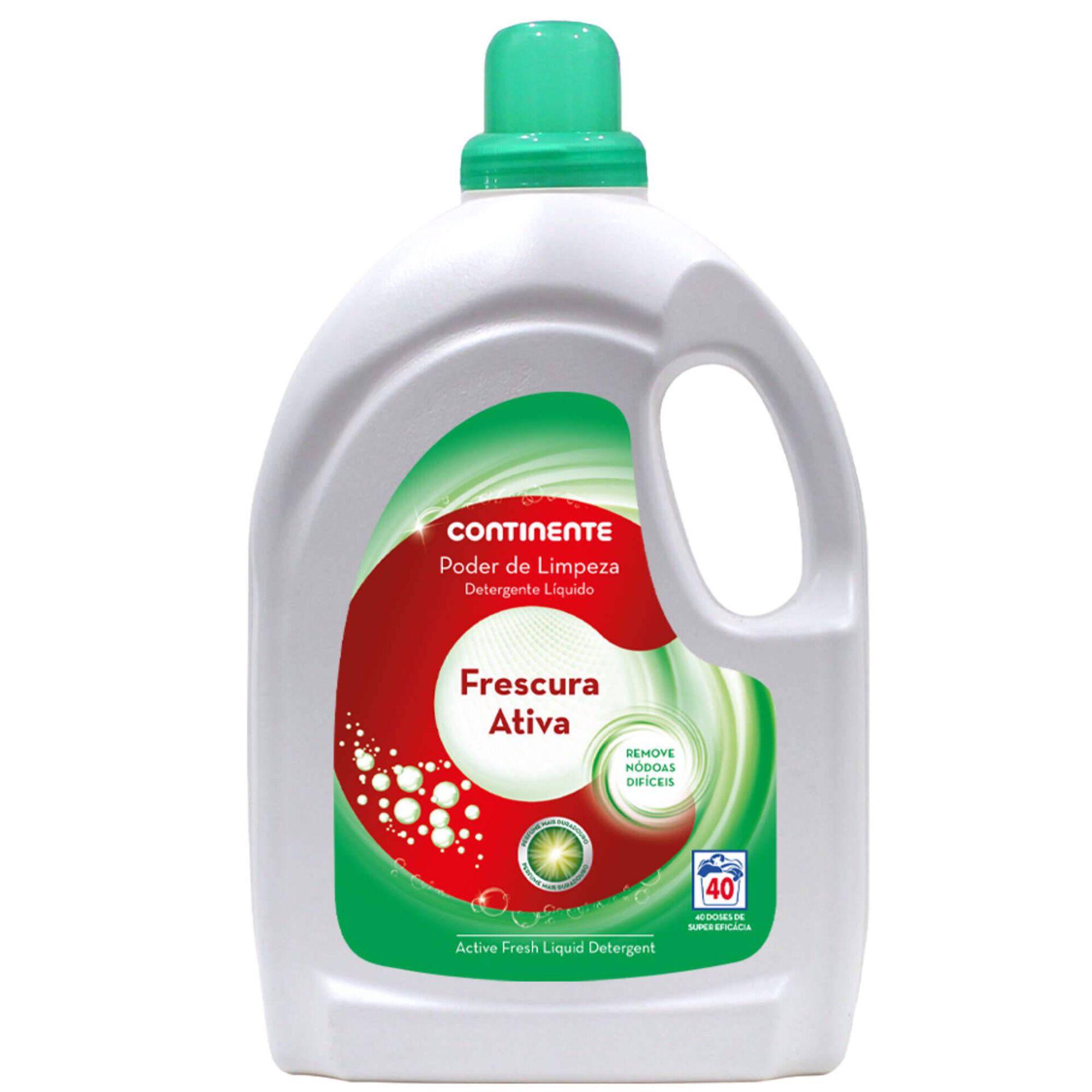 Detergente Máquina Roupa Líquido Frescura Ativa
