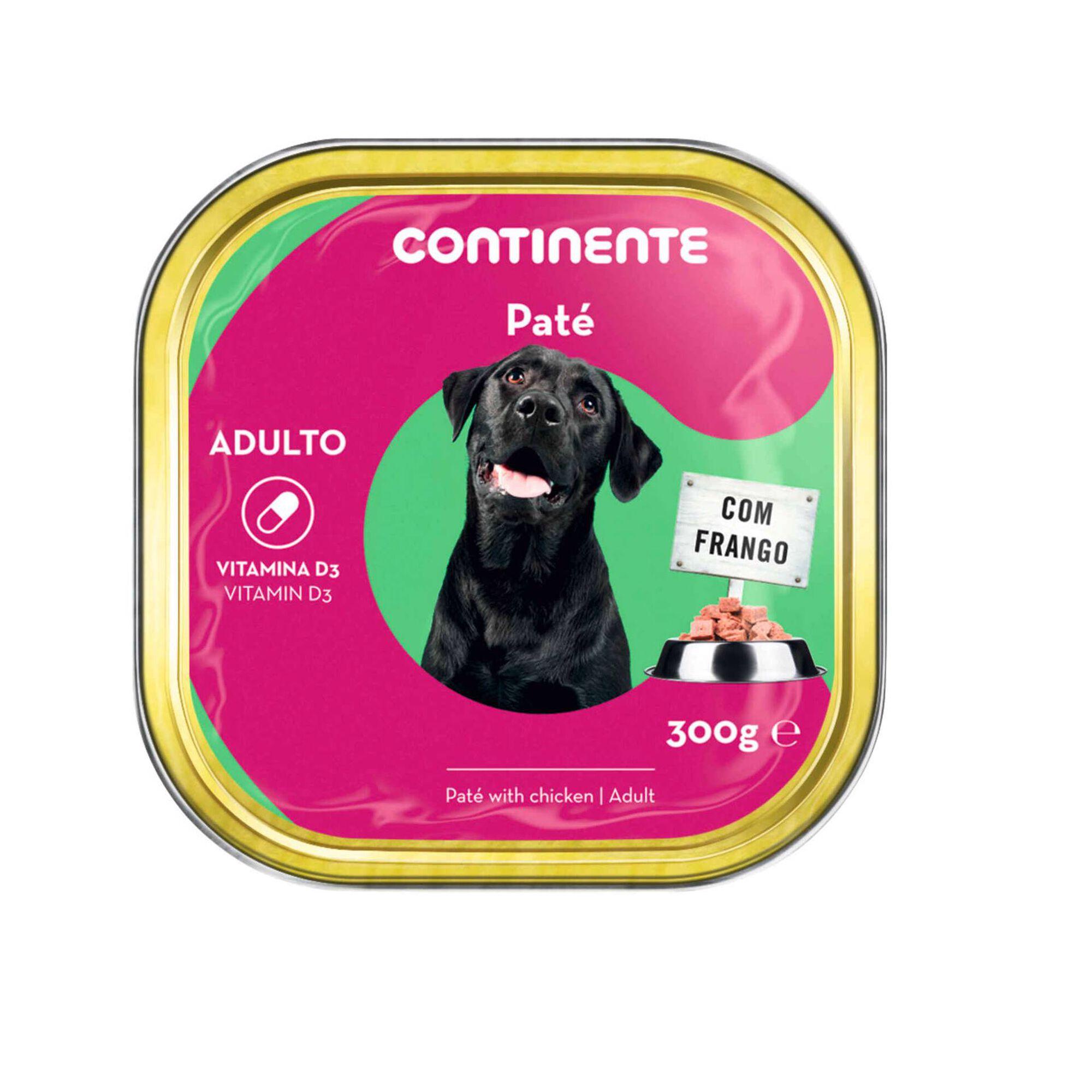 Comida Húmida para Cão Adulto Patê Frango Terrina