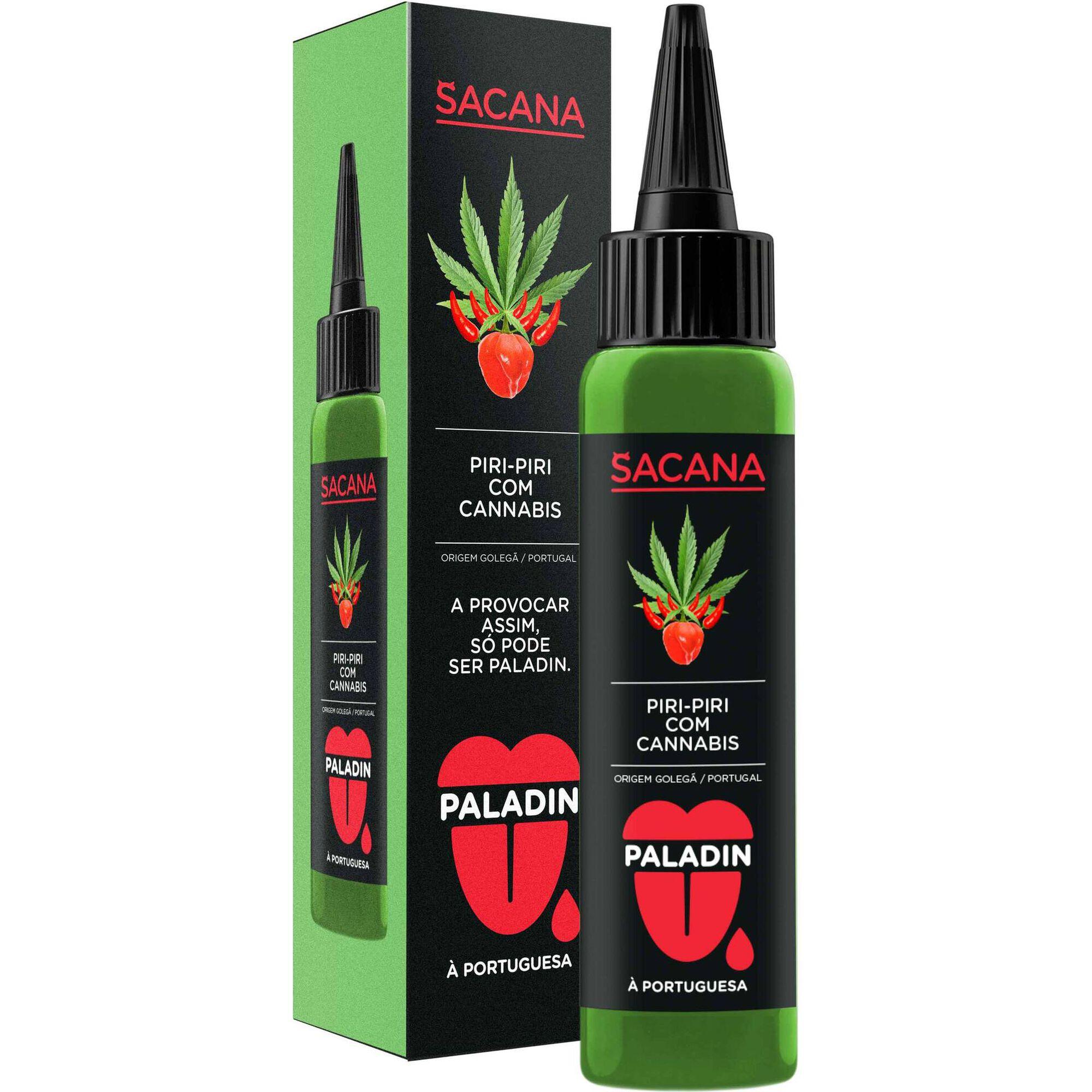 Molho Piri-piri Sacana Cannabis