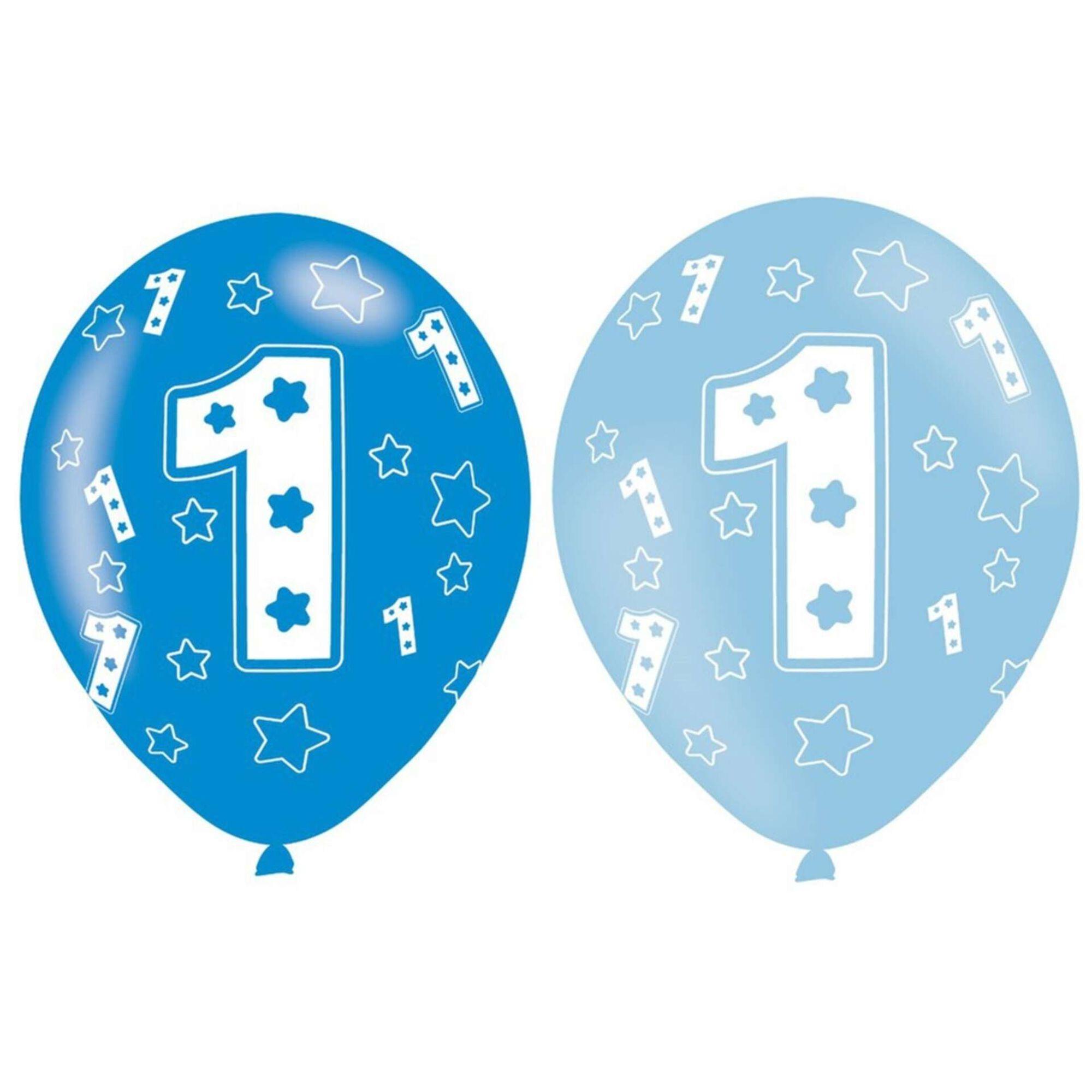 Balões Nº1 Azuis
